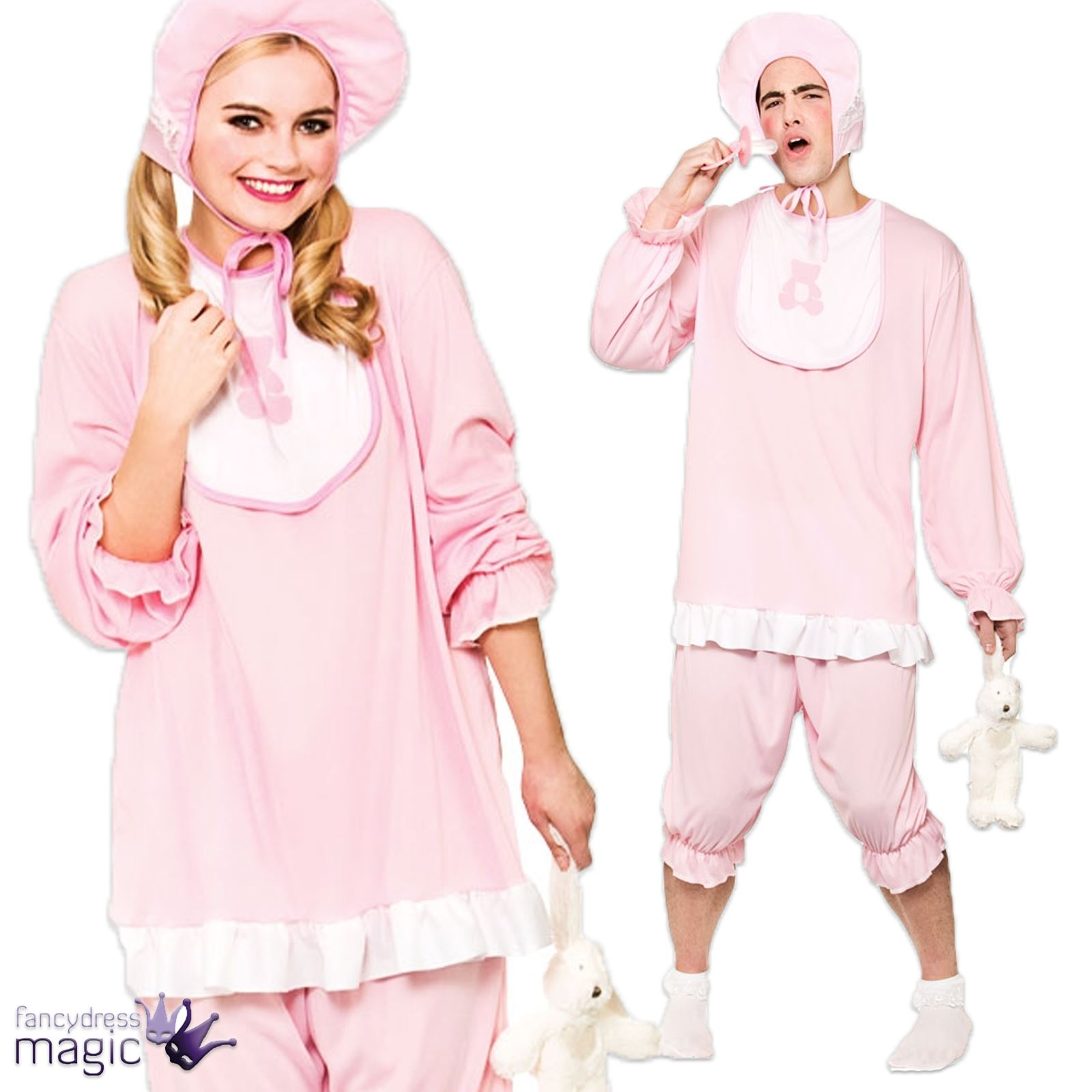 Adults Funny Big Cry Baby Cute Romper Suit Novelty Hen Stag Fancy