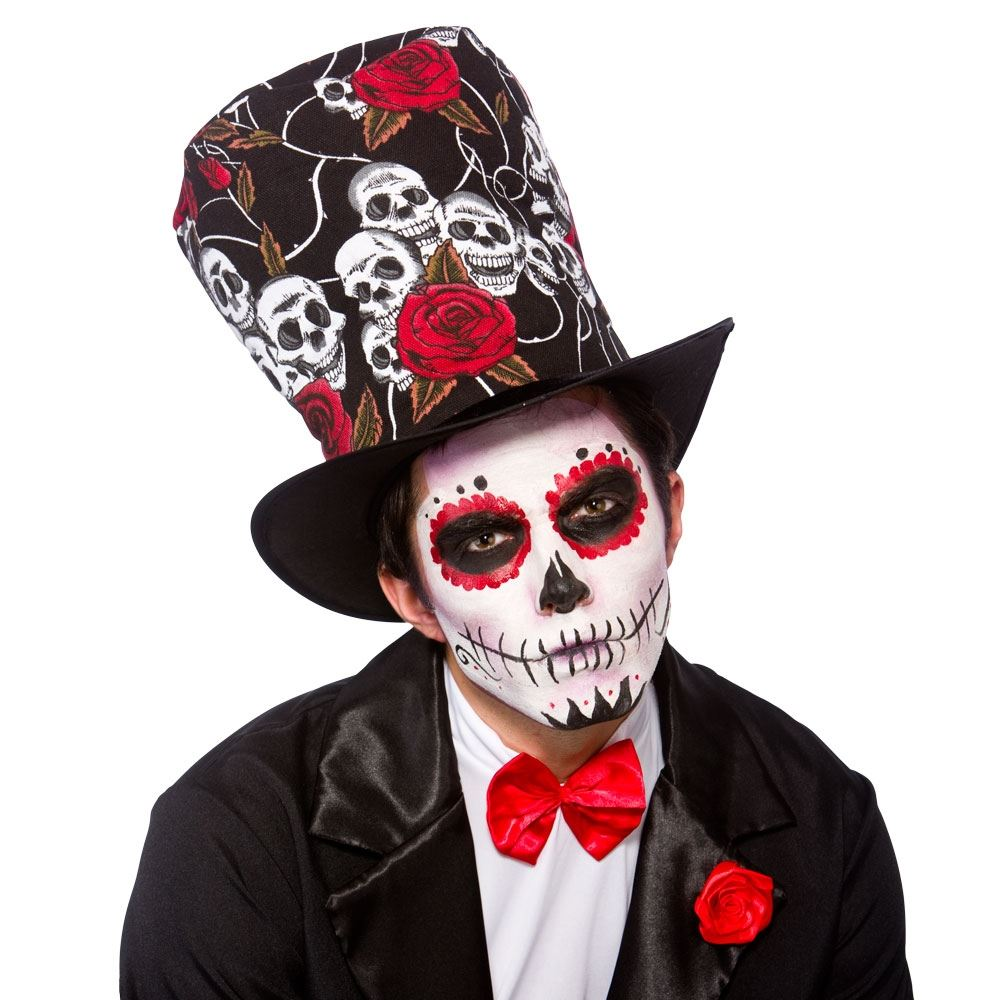 Day Of The Dead Mens Face Paint