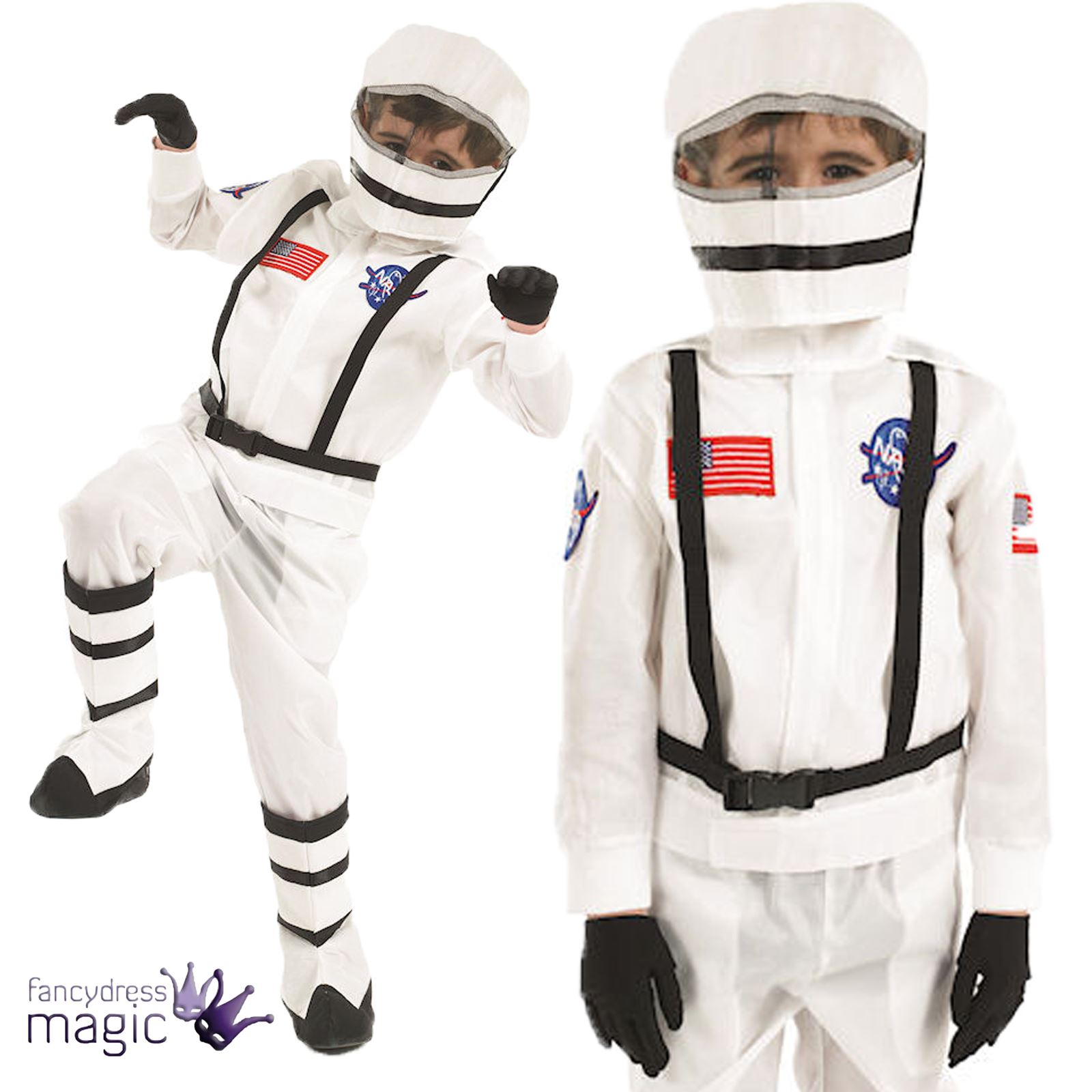 kinder kinder fach junge mann anzug nasa astronaut kost m kleid outfit helm ebay. Black Bedroom Furniture Sets. Home Design Ideas