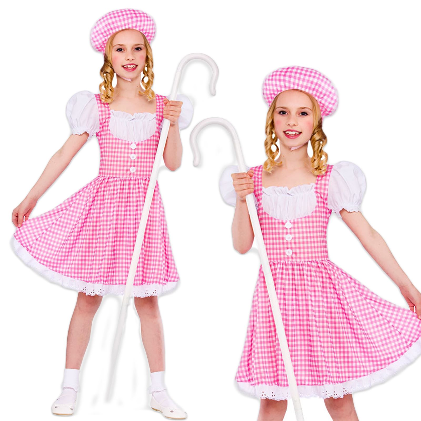 LITTLE BO PEEP BOOK WEEK GIRLS FANCY DRESS COSTUME ...