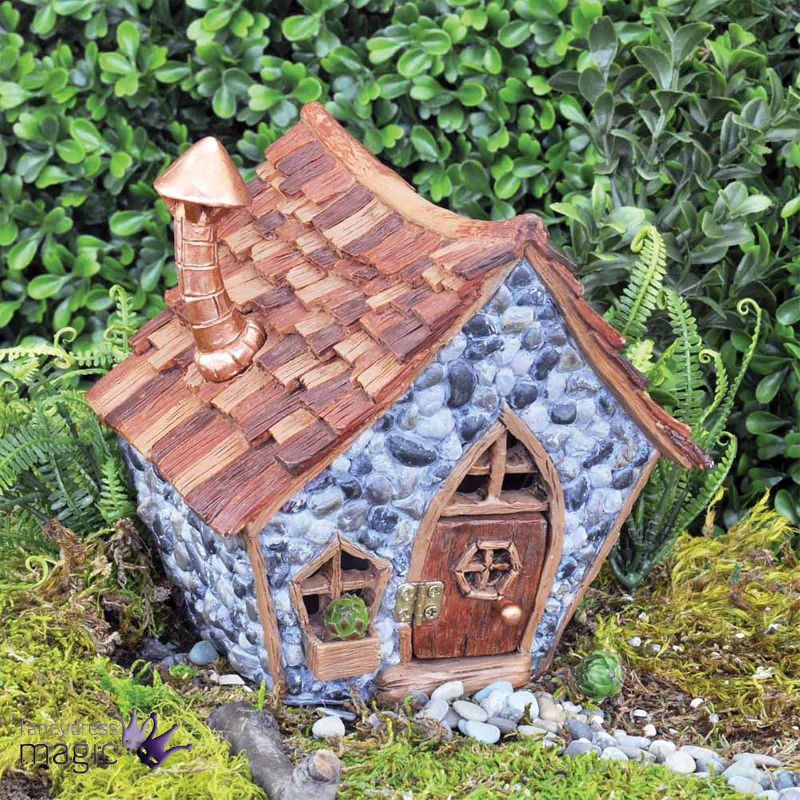 Fiddlehead bardeau shingletown nain jardin de f es pixie maison accessoire ebay - Jardin de fee ...