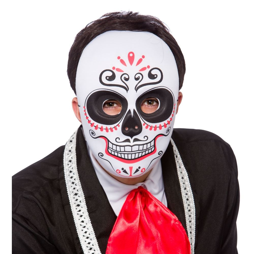 Halloween Mexican Zombie Sugar Skull Day of the Dead Fancy Dress