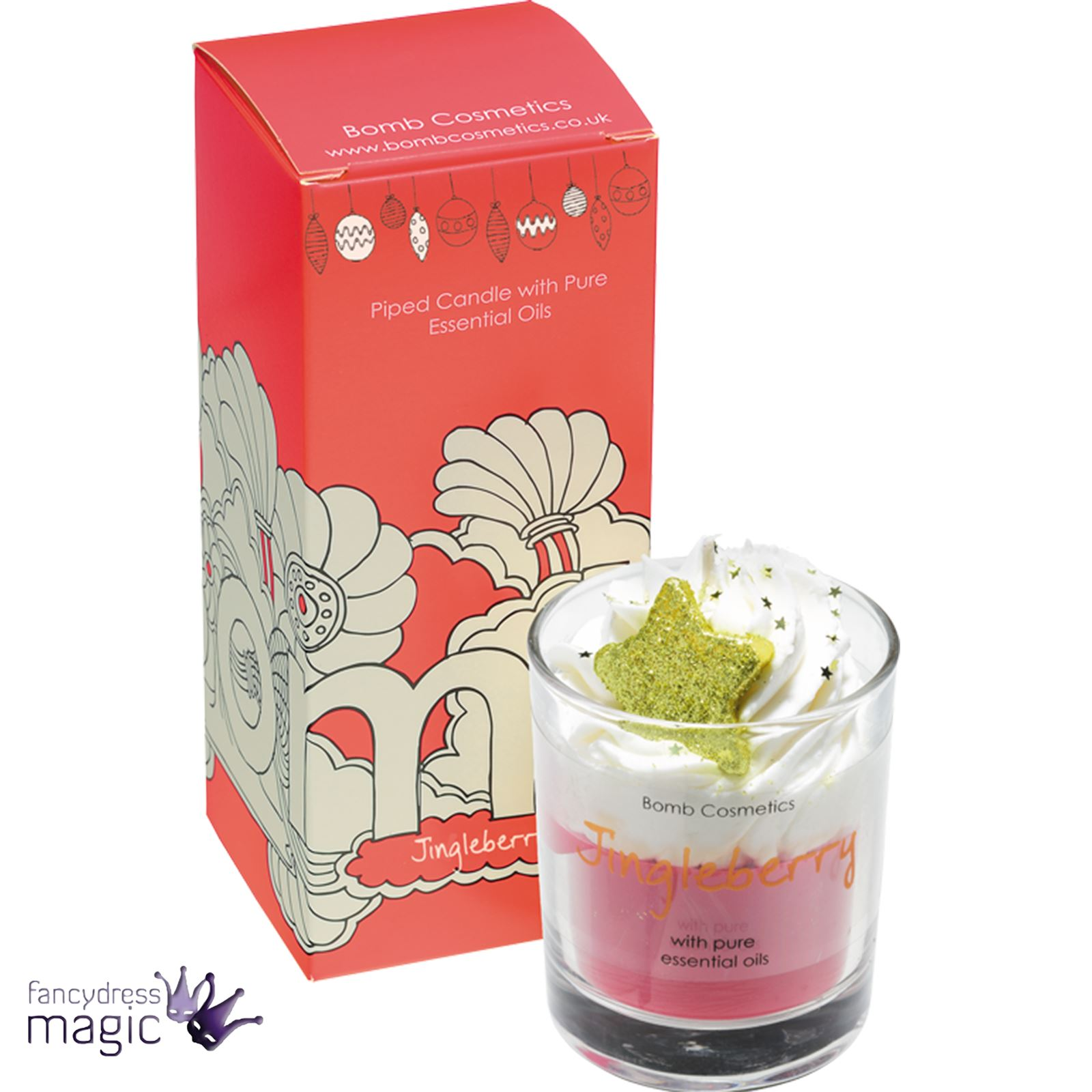Bomb-Cosmetics-Handmade-Piped-Glass-Candle-Vegan-Pure-Essential-Oils-Boxed-Gift thumbnail 18
