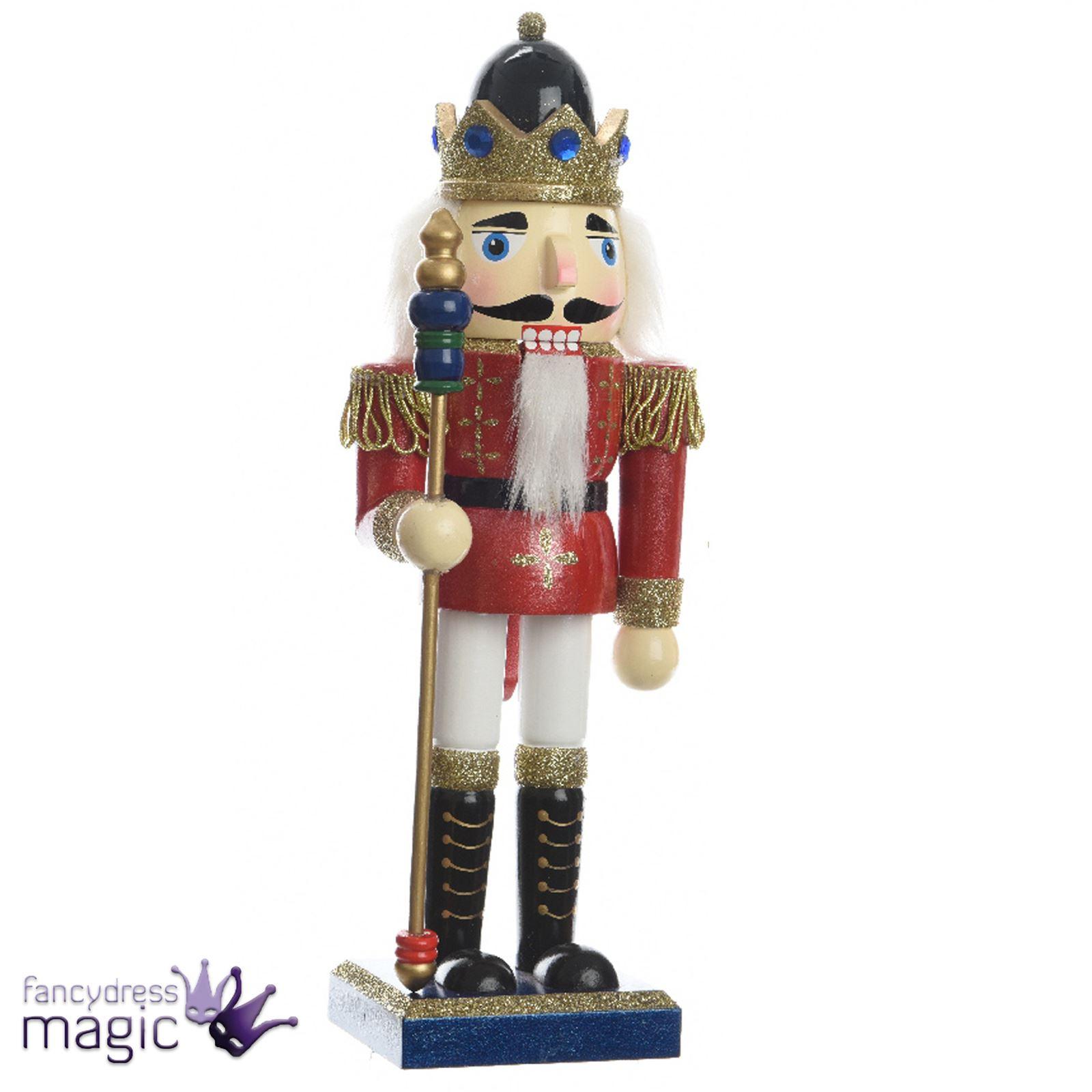 Kaemingk Wood Traditional Soldier Nutcracker Christmas Ornament ...