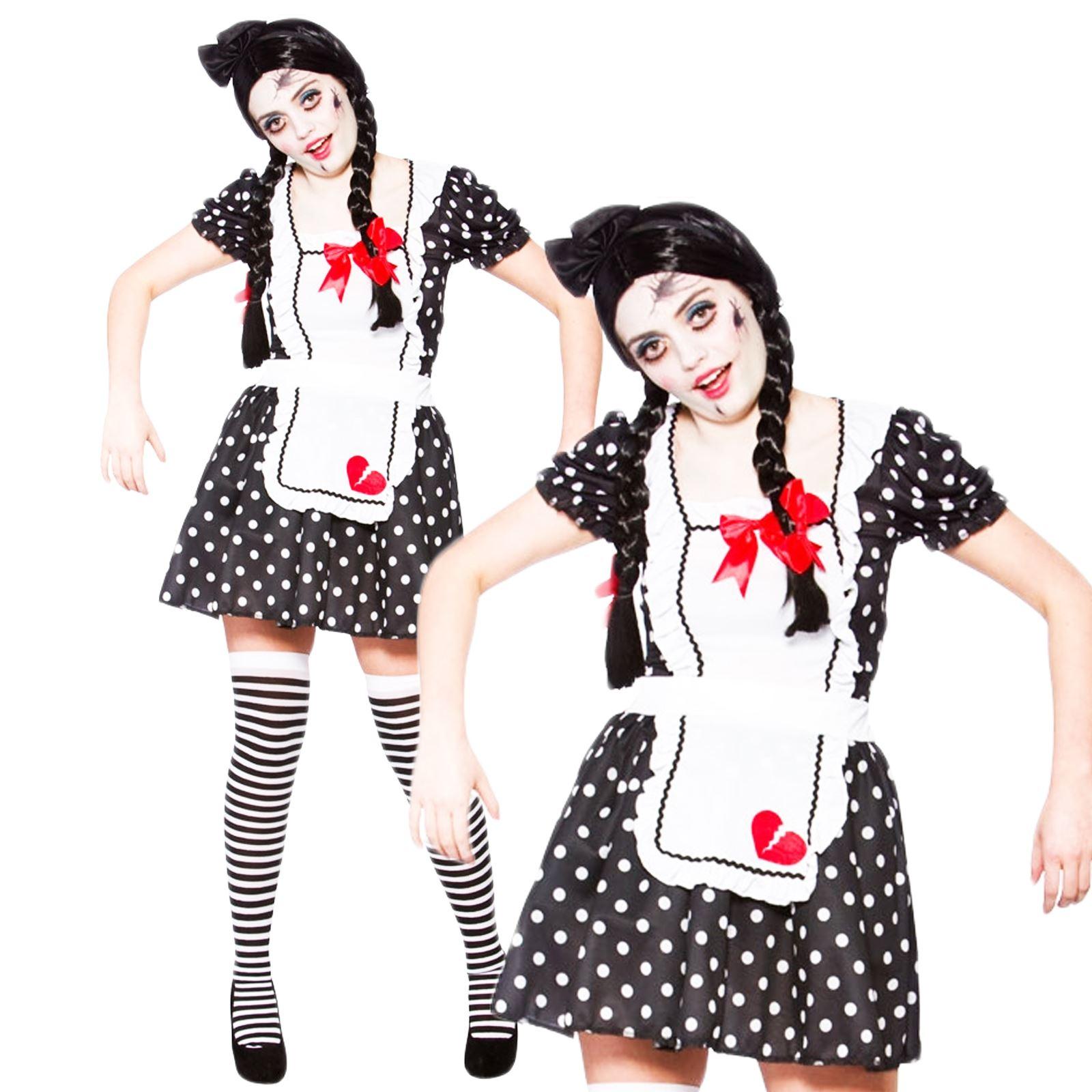 disfraces de halloween muneca zombie