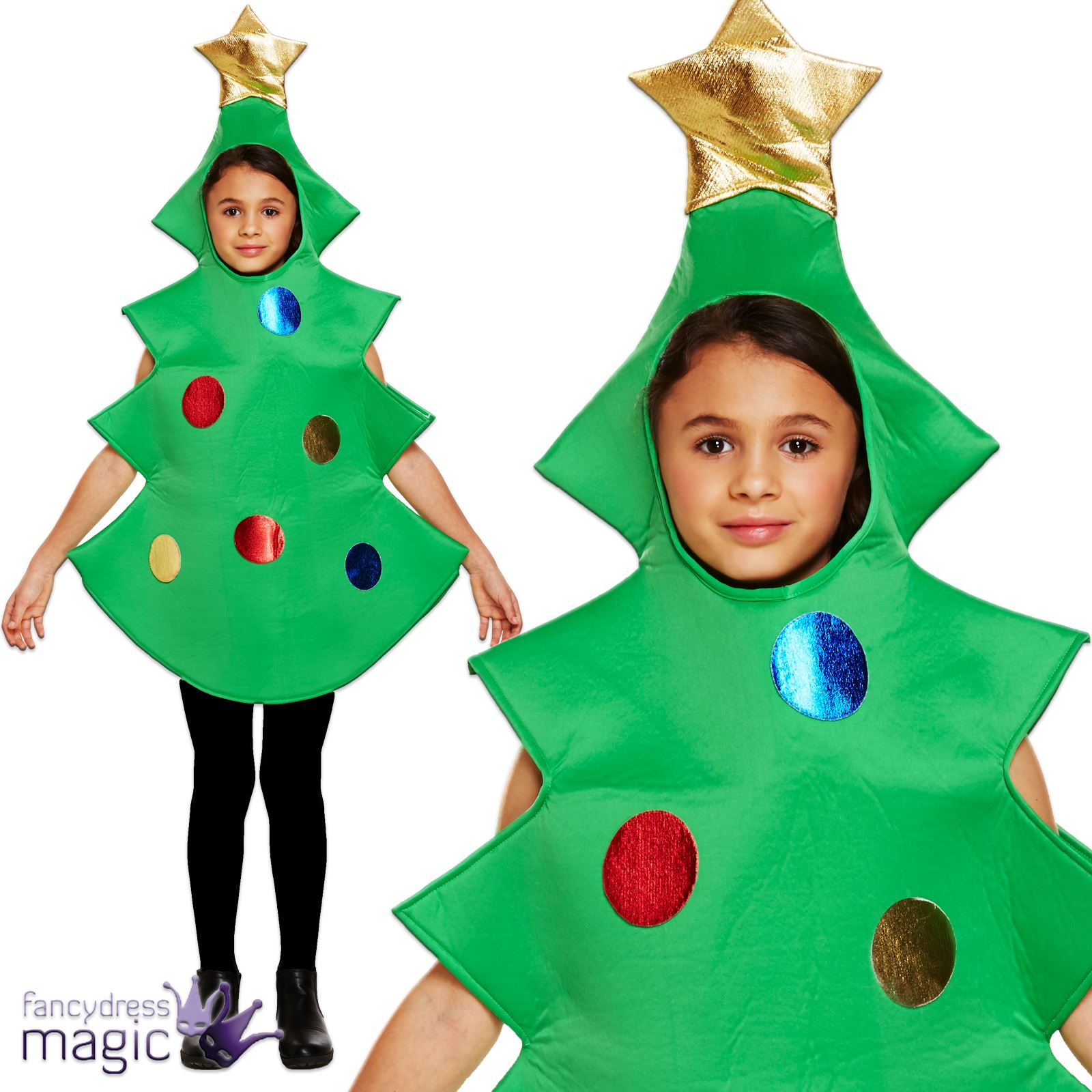 Your little one will do a better job than Buddy the Elf at spreading Christmas cheer, in this festive fancy dress costume. It's designed to look just like Will Ferrell's uniform from the film that's become a seasonal modern classic, then topped off with a cute elf hat.