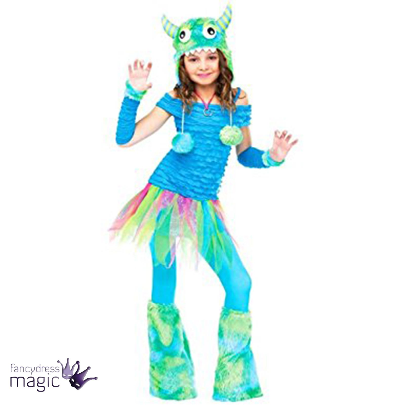 girls kids ladies blue big beastie sully monsters inc halloween
