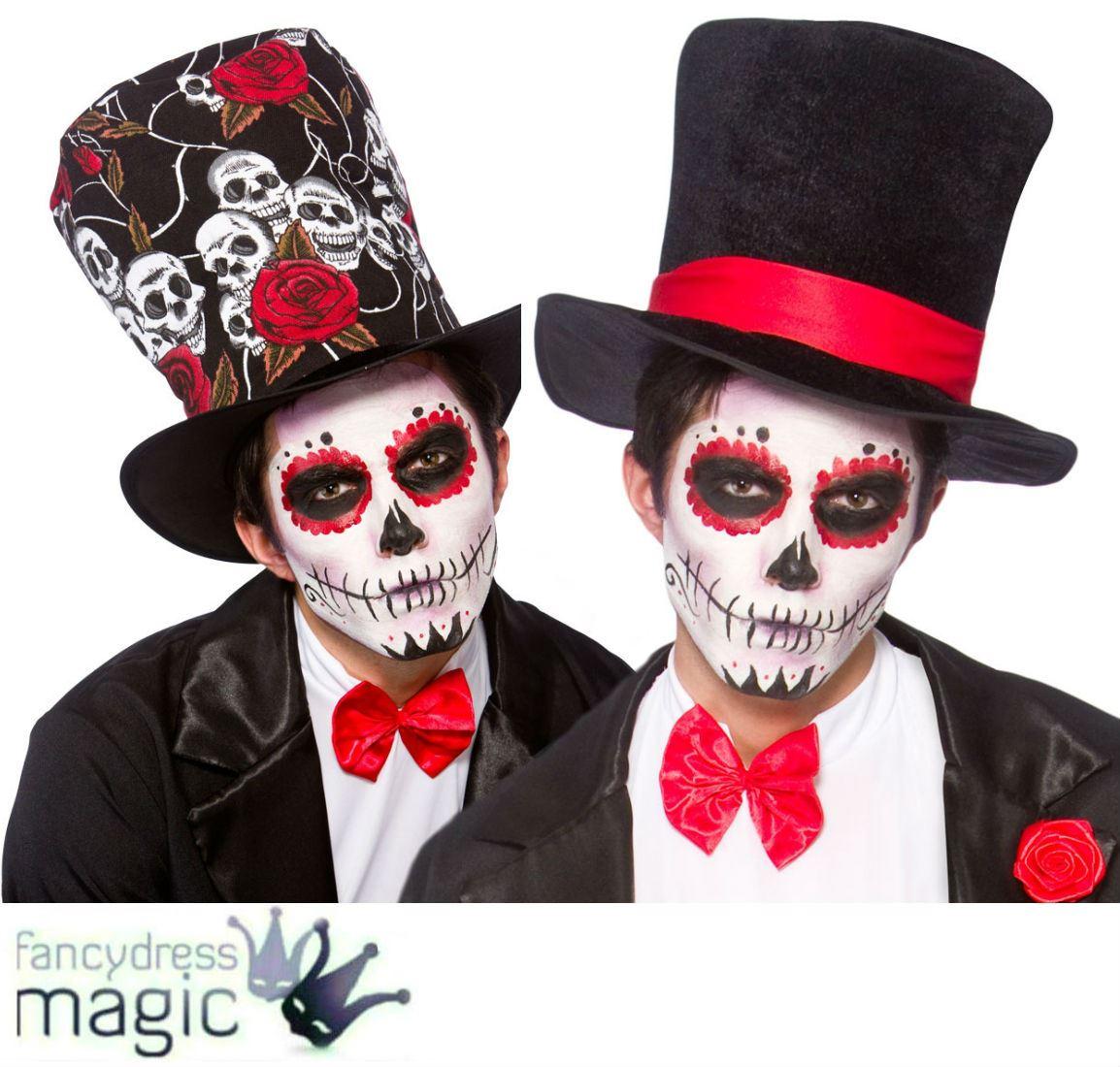 Día de muertos sombrero disfraces disfraz Halloween mexicano día De Los  Muertos 9000cde1b24
