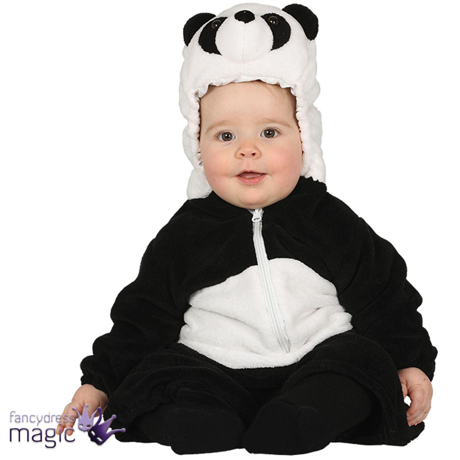 Cute Baby Toddler Panda Zoo Animal Jungle Book Week Fancy Dress