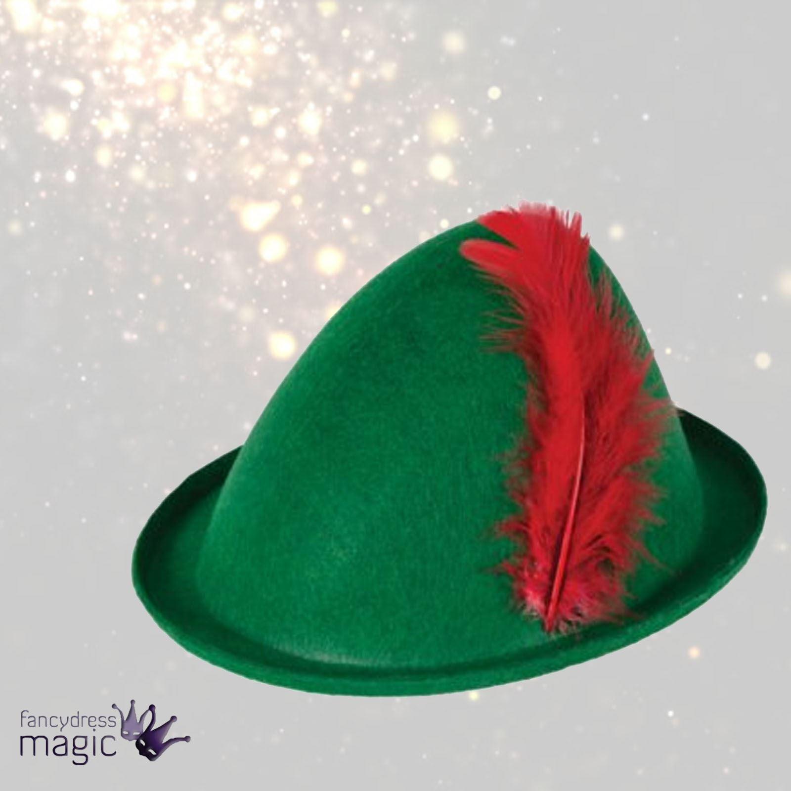 8bb70e4302f22 Robin Hood   sombrero de plumas vestido de fantasía de Peter Pan verde  fantasía Medieval adultos