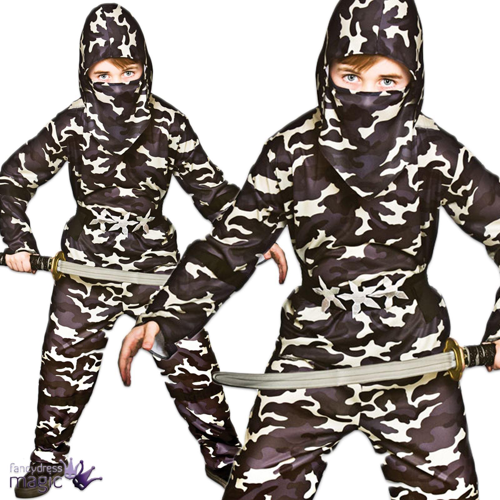 para niños Delta Fuerza Camuflaje Ninja Ejército Militar Artes ...
