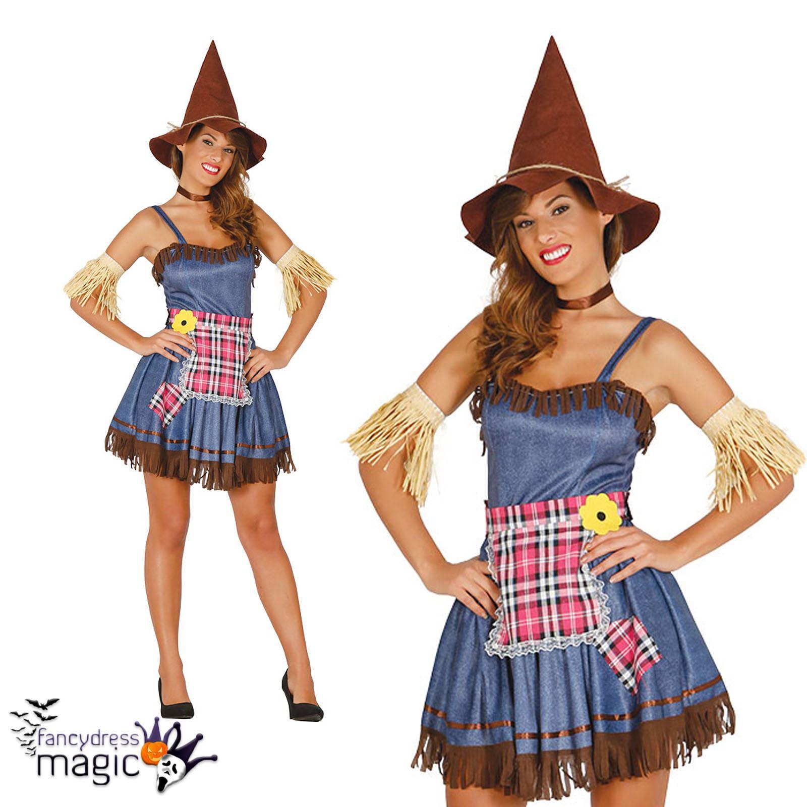Mujer Espantapjaros Mago de Oz Sexy De Halloween Da Del Libro