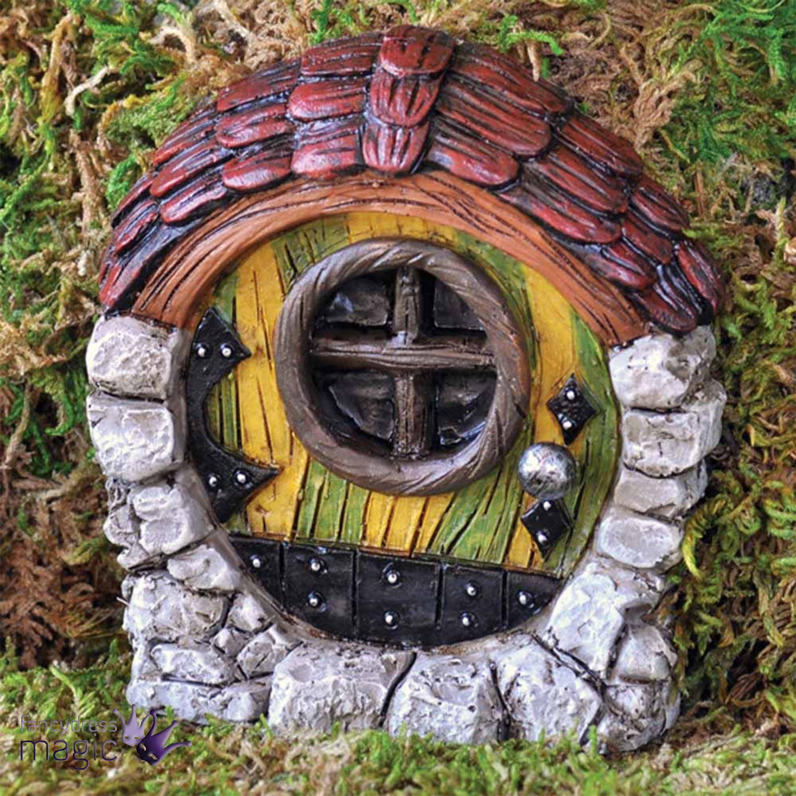 fiddlehead mini miniature f e elfe lutin hobbit porte accessoire de jardin ebay. Black Bedroom Furniture Sets. Home Design Ideas