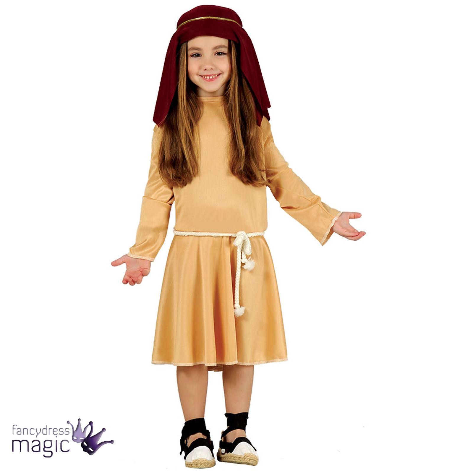 Boys-Girls-Childs-Xmas-Christmas-Nativity-Shepherd-Fancy-  sc 1 st  eBay & Boys Girls Childs Xmas Christmas Nativity Shepherd Fancy Dress ...