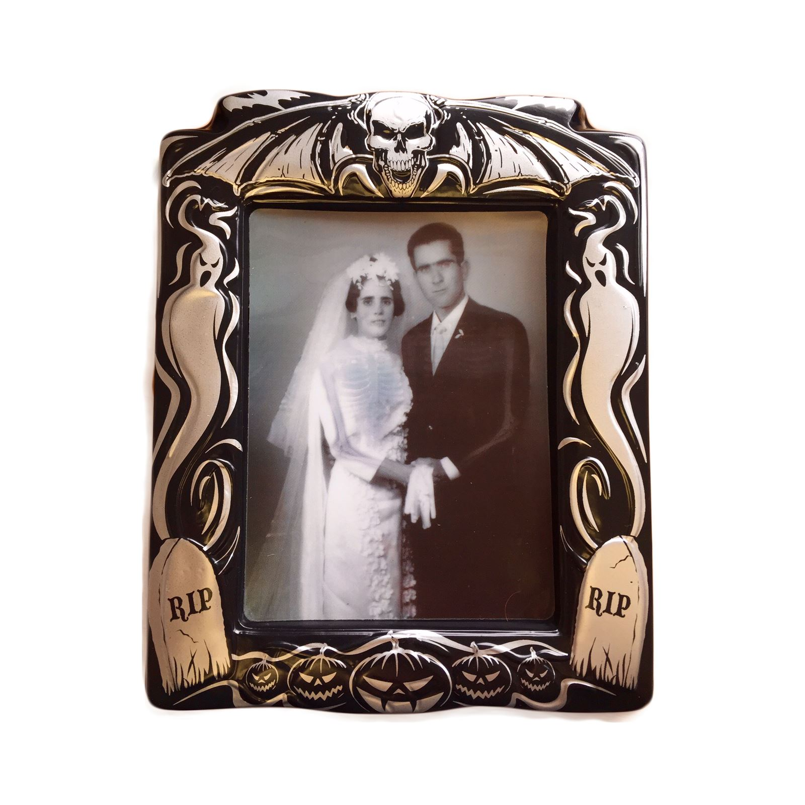 Holographic Changing Picture Photo Portrait Halloween Scene Setter ...