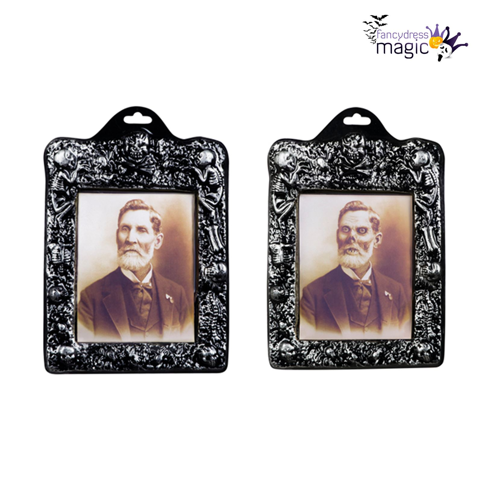 Halloween holographic photo frame portrait changing picture spooky halloween holographic photo frame portrait changing picture spooky jeuxipadfo Images
