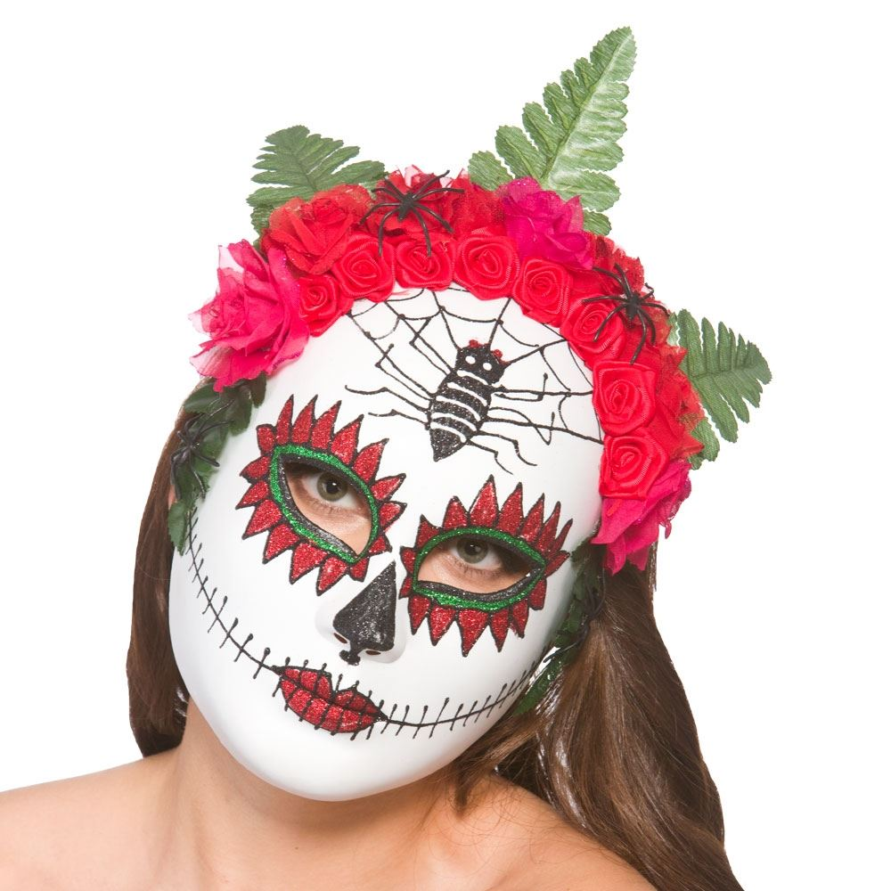 halloween mexican zombie sugar skull day of the