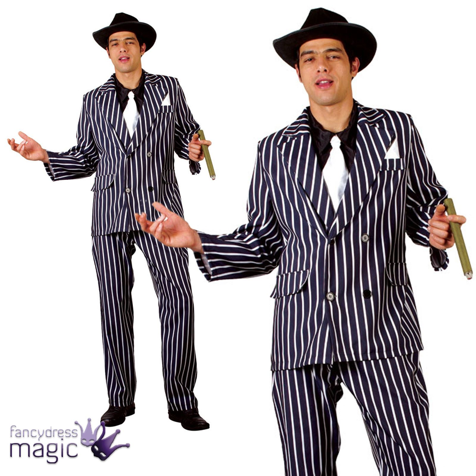 godfather gangster italian 20s mens fancy dress up mafia costume