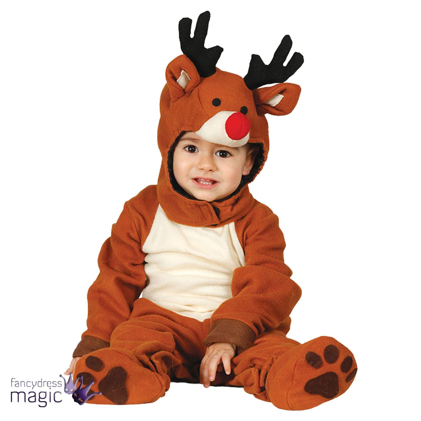 baby kleinkind weihnachten rentier kost m kleid outfit. Black Bedroom Furniture Sets. Home Design Ideas