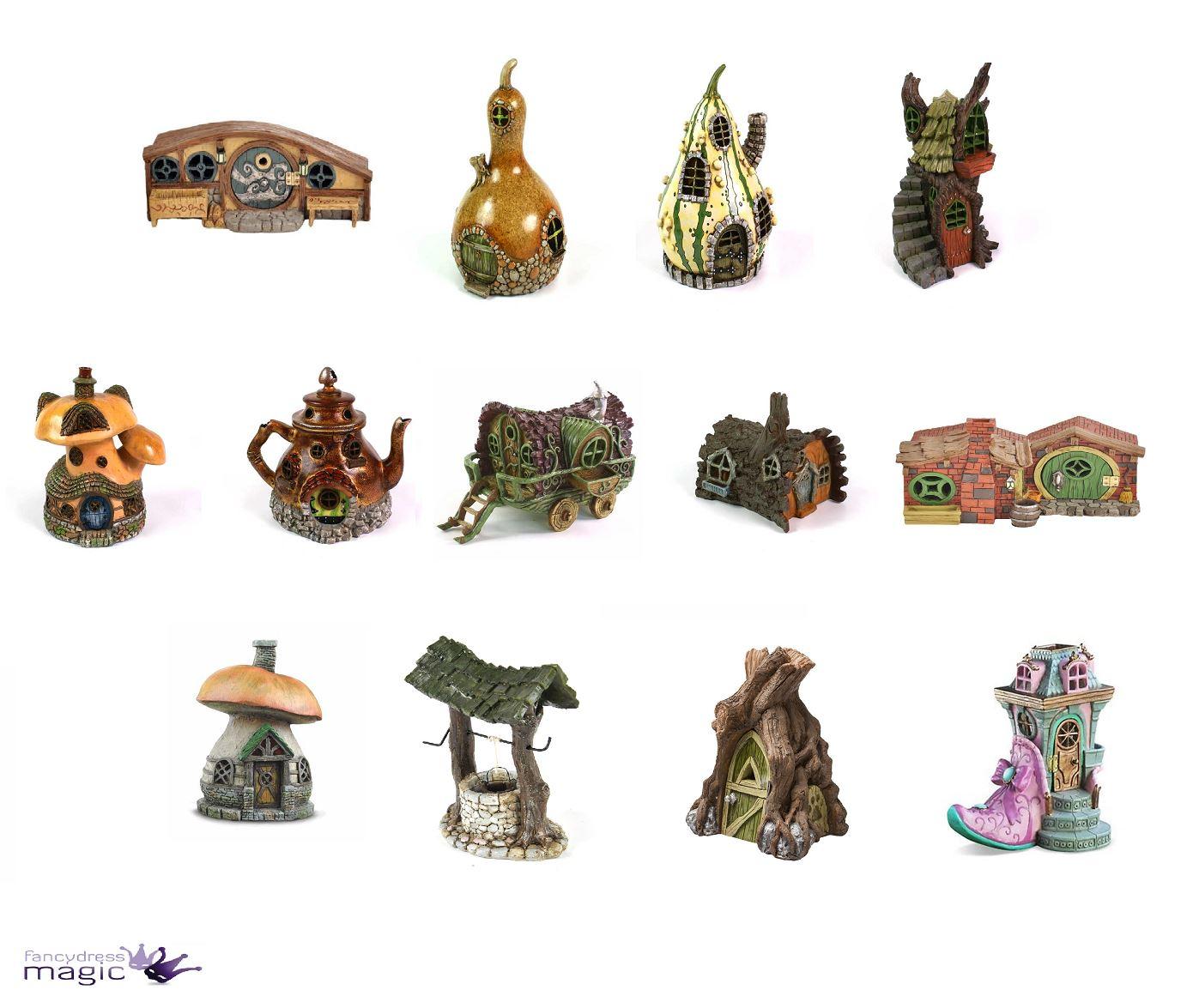 Fiddlehead Haus Mikro Mini Große Häuschen Haus Fee Gartenzubehör Ebay