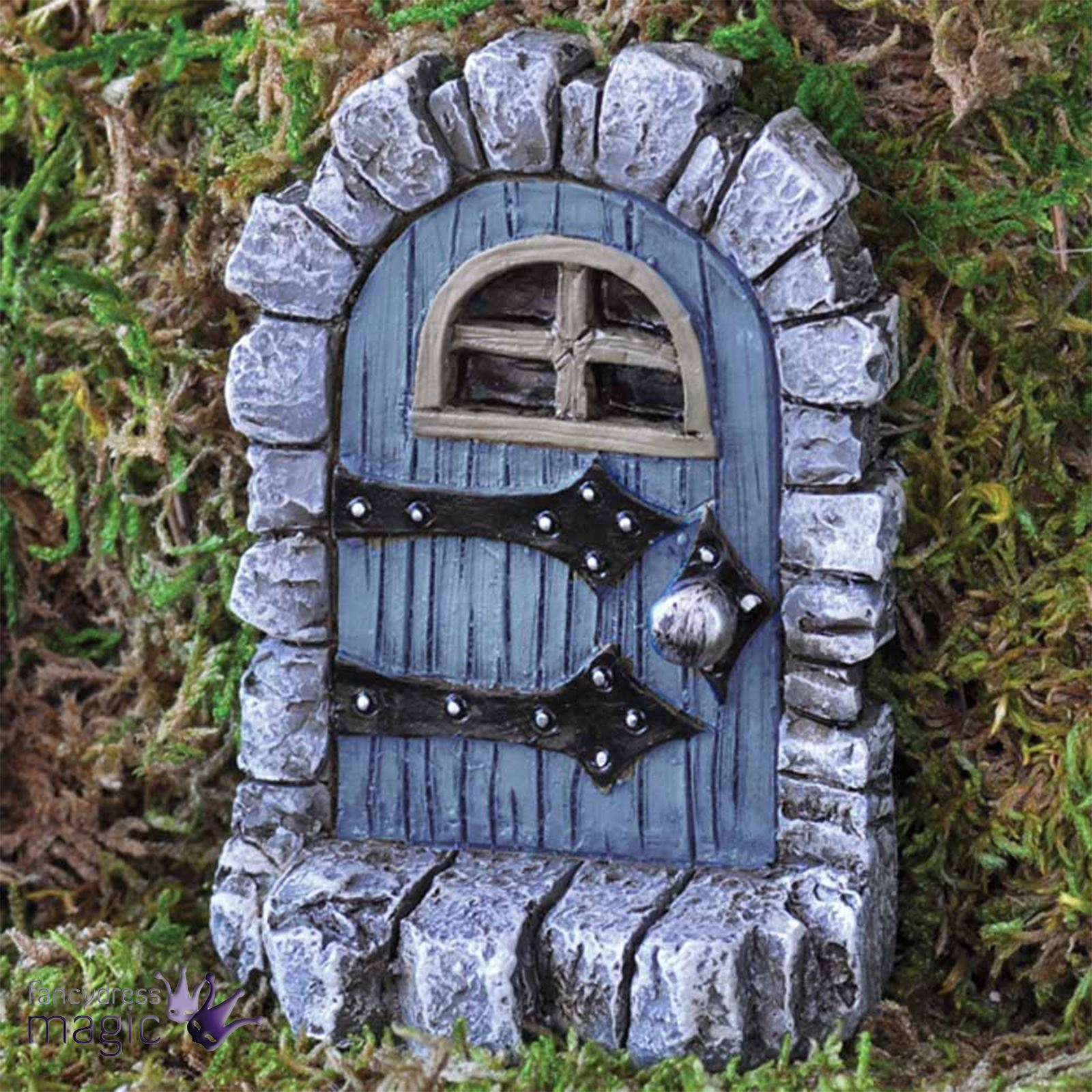 fiddlehead mini miniature f e elfe lutin hobbit porte accessoire de jardin ebay. Black Bedroom Furniture Sets. Home Design Ideas