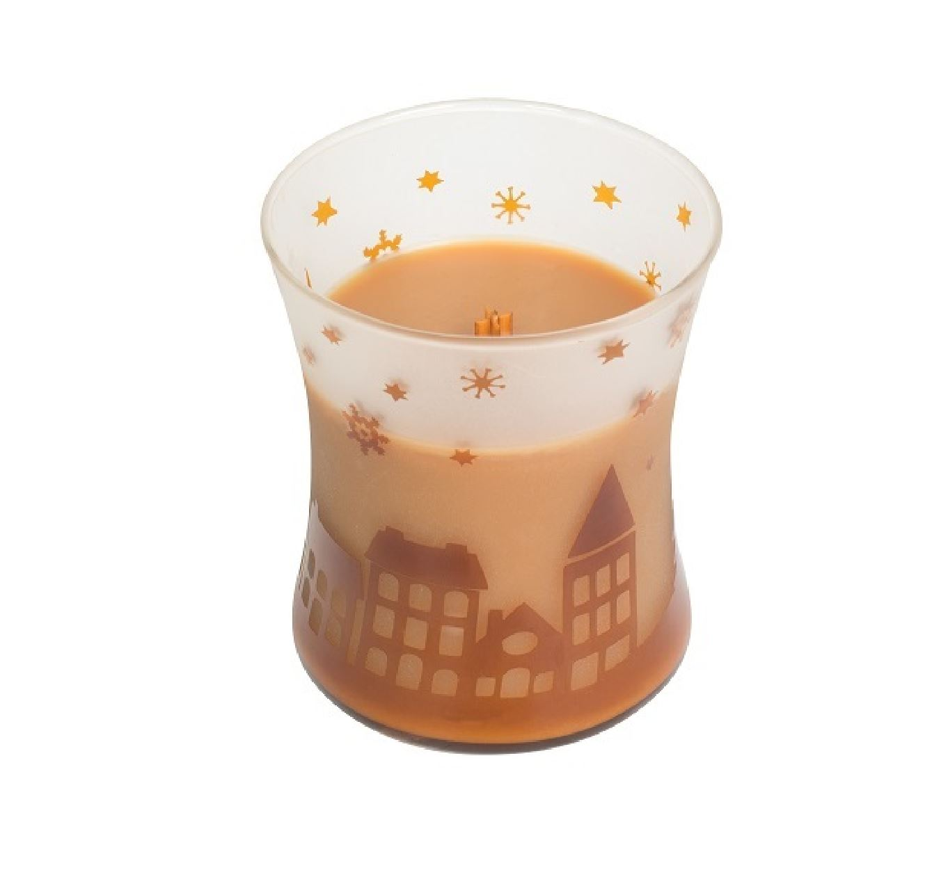 Woodwick-Christmas-Xmas-Special-Edition-Medium-Candle-Jar-Hourglass-Home-Gift