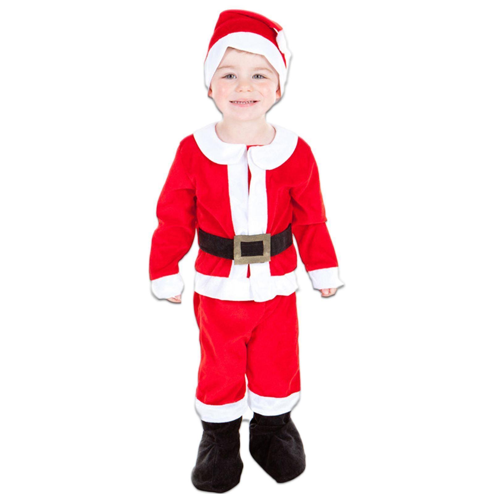 DELUXE BOYS GIRLS BABY TODDLER XMAS CHRISTMAS FESTIVE FANCY DRESS