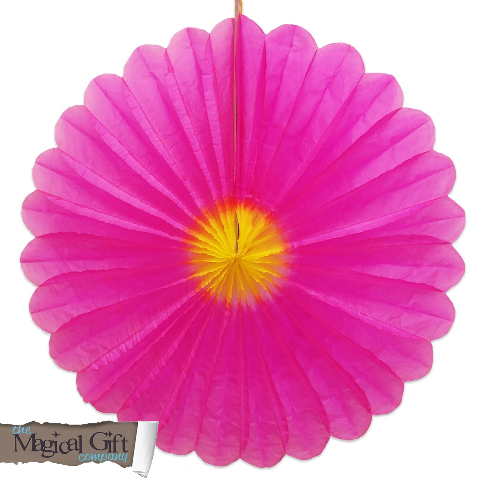 buy popular f9830 b58a6 Gisela Graham Pink Paper Honeycomb Flower Hanging Easter Party Decoration  40cm