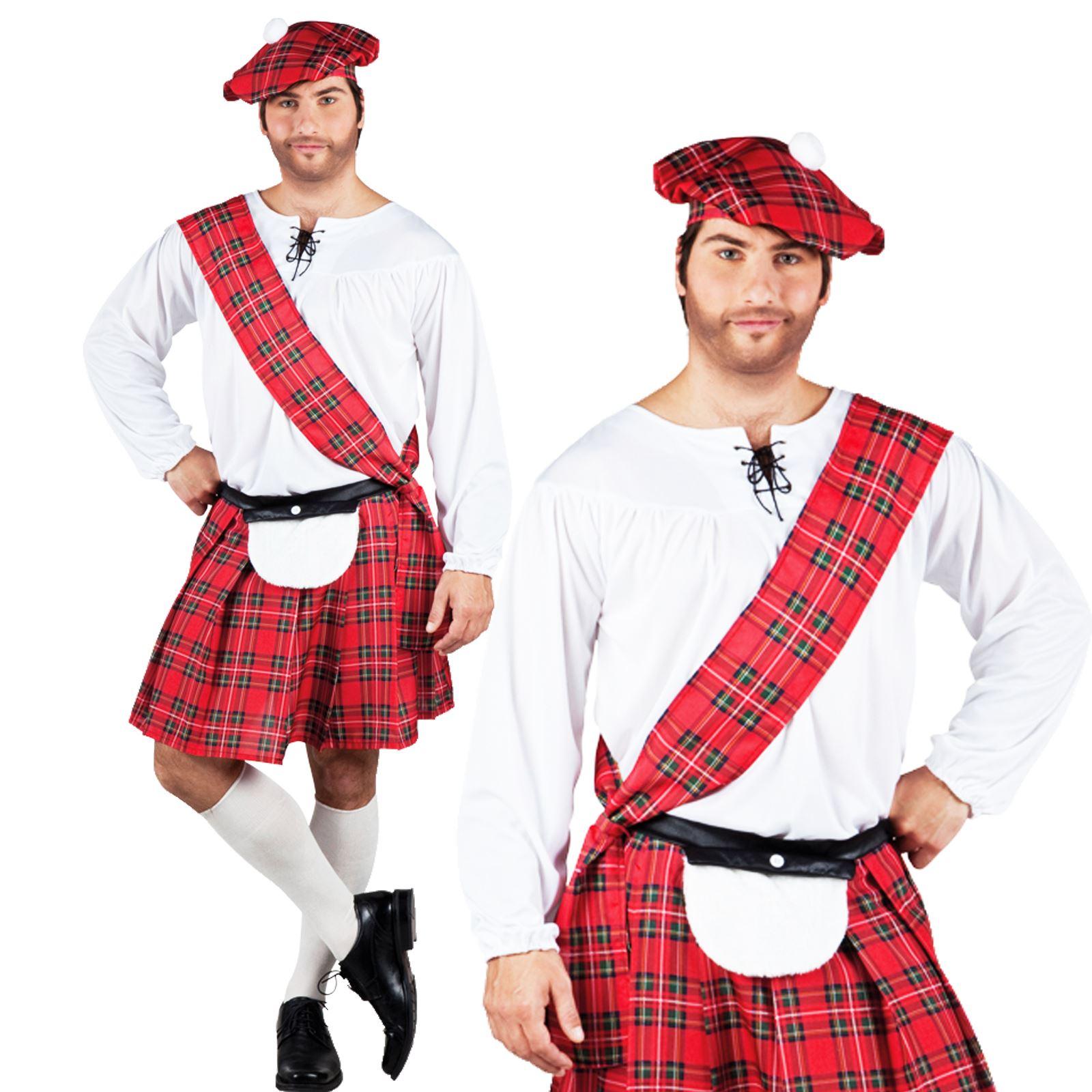 new scottish scotsman burns tartan kilt sash shirt