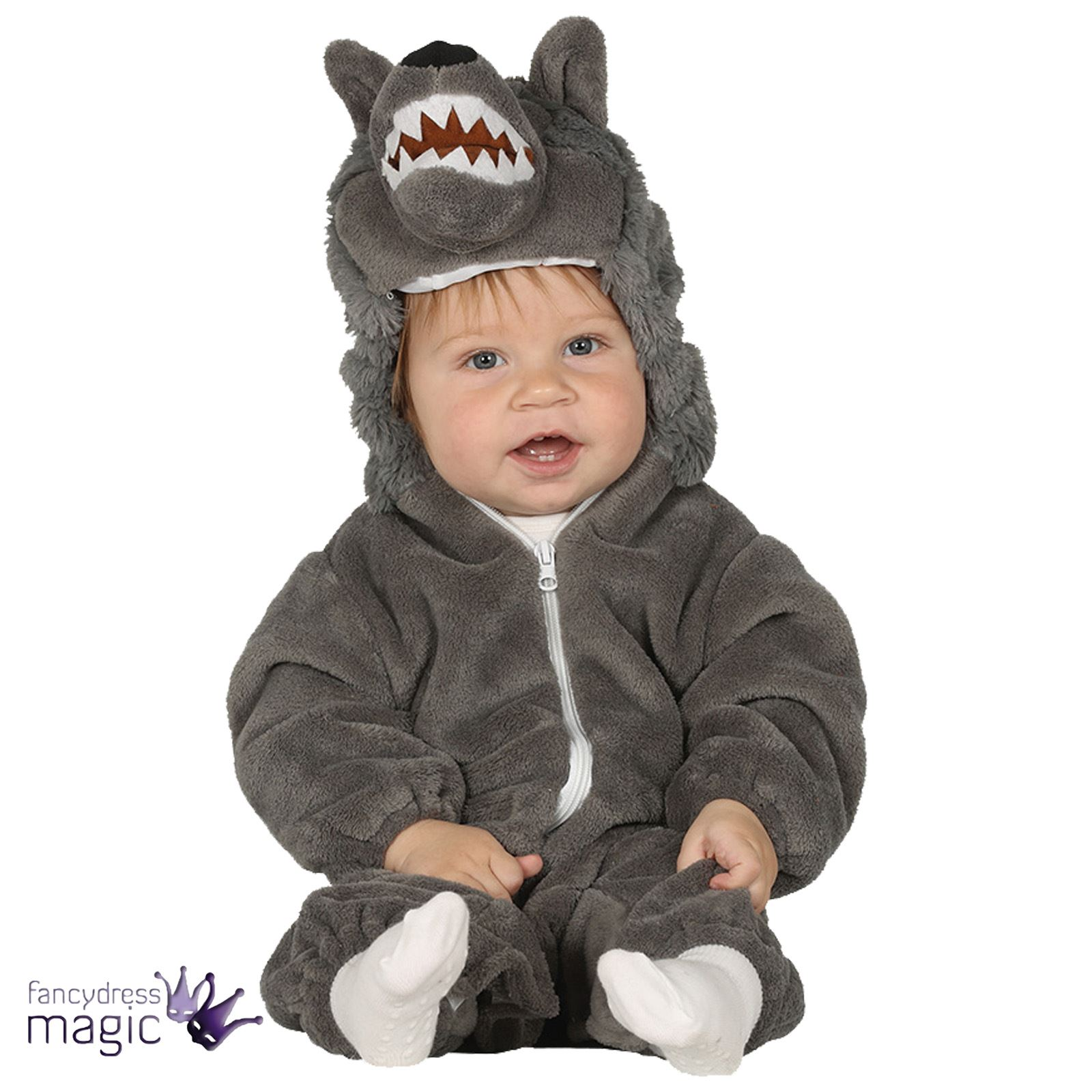 Baby Toddler Halloween Wolf Fancy Dress Costume Outfit Book Day Week