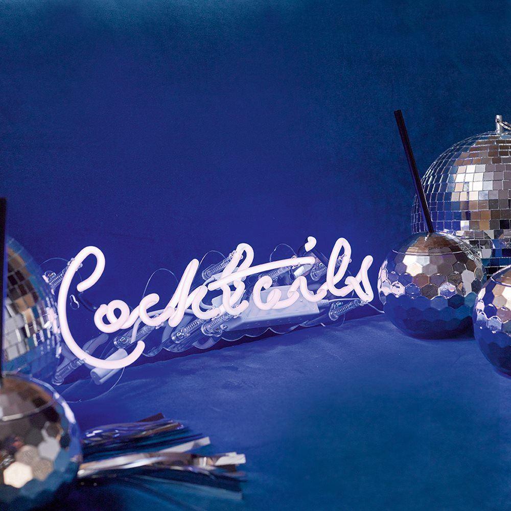 Best Bar Neon Lights: Locomocean Talking Tables Neon Light Lamp Desk Top Sign