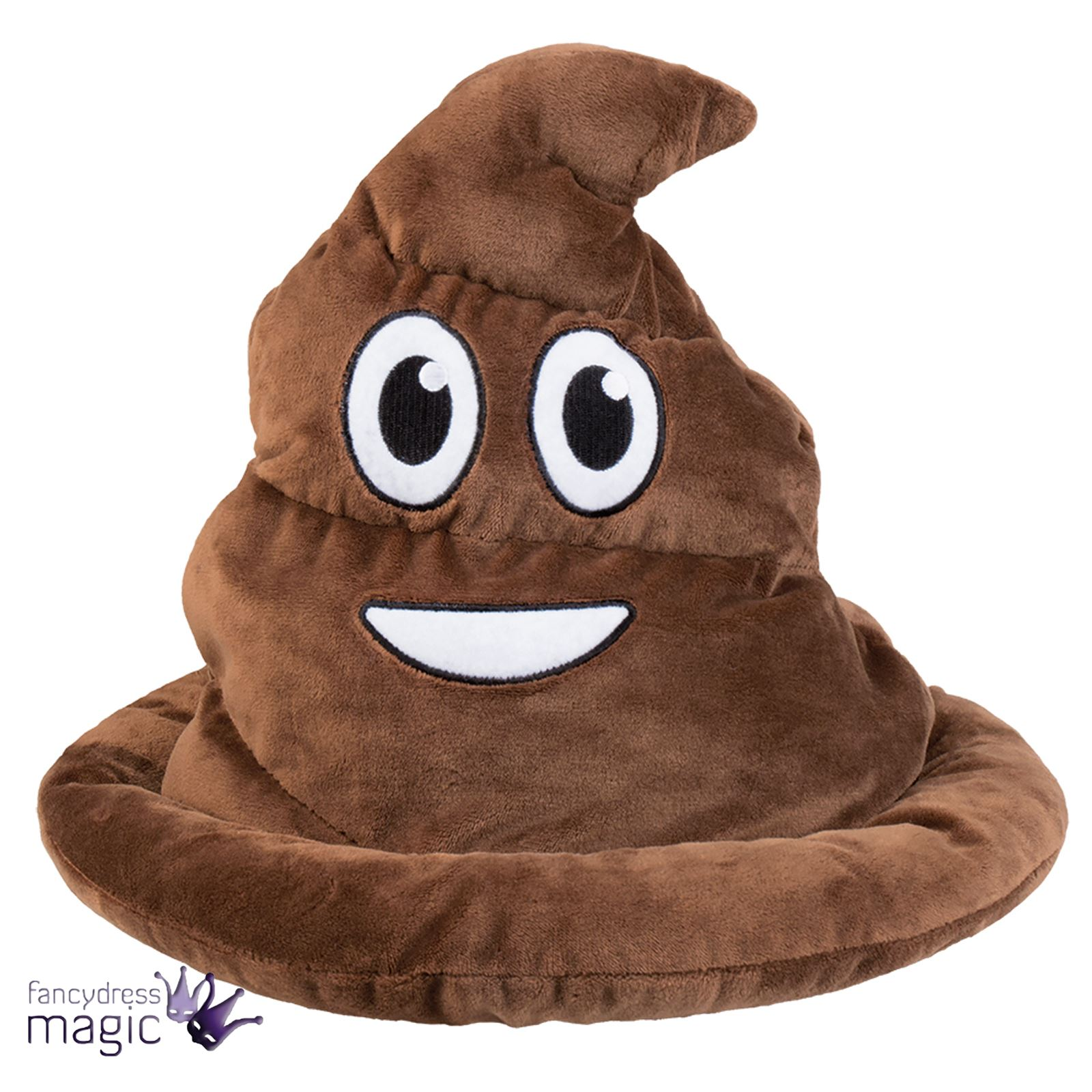 mens soft shithead pooh hat novelty fancy dress costume accessory emoji stag do 8712026042842 ebay. Black Bedroom Furniture Sets. Home Design Ideas