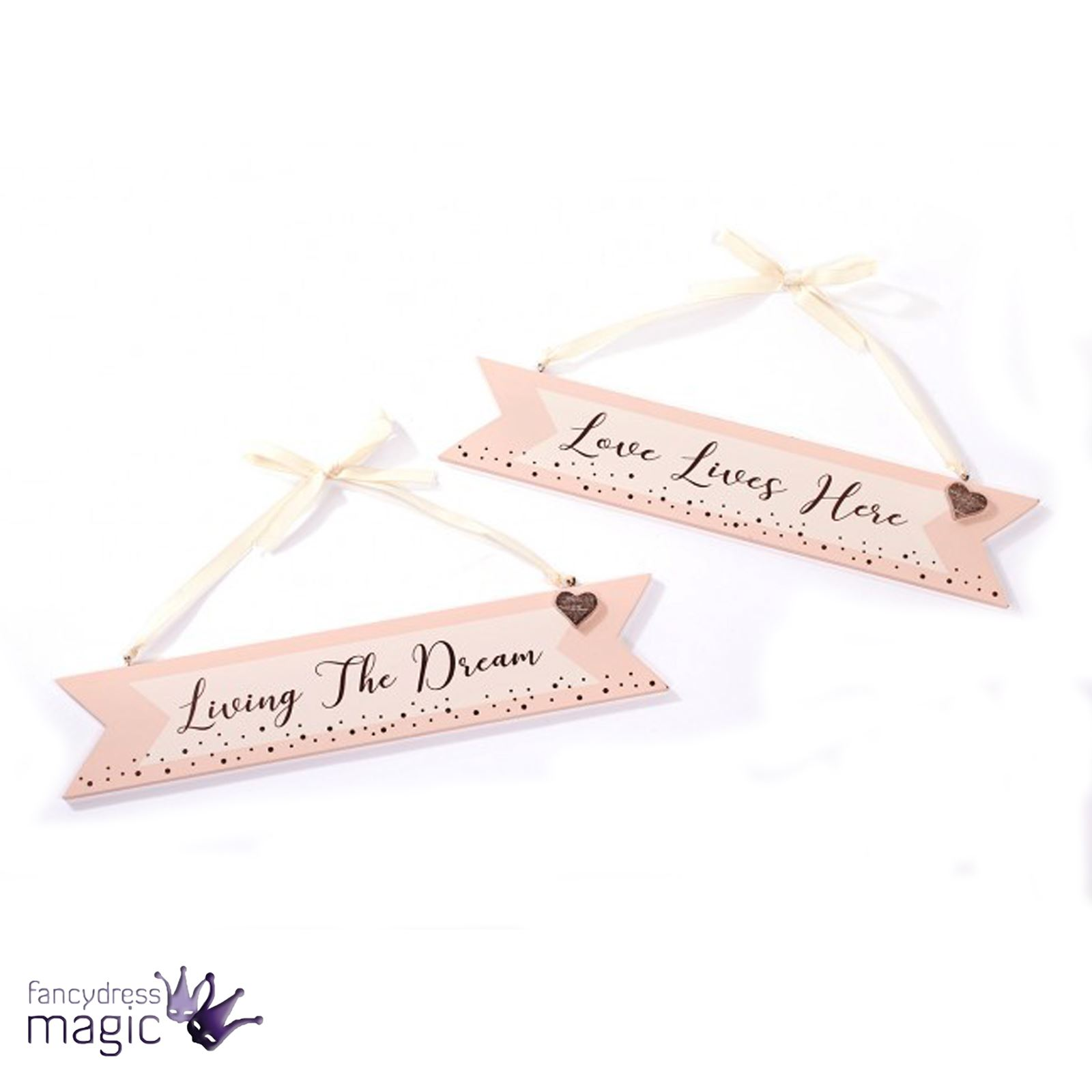 Rose Gold Foil Wooden Newlywed Wedding Love Sign Plaque Hanging ...