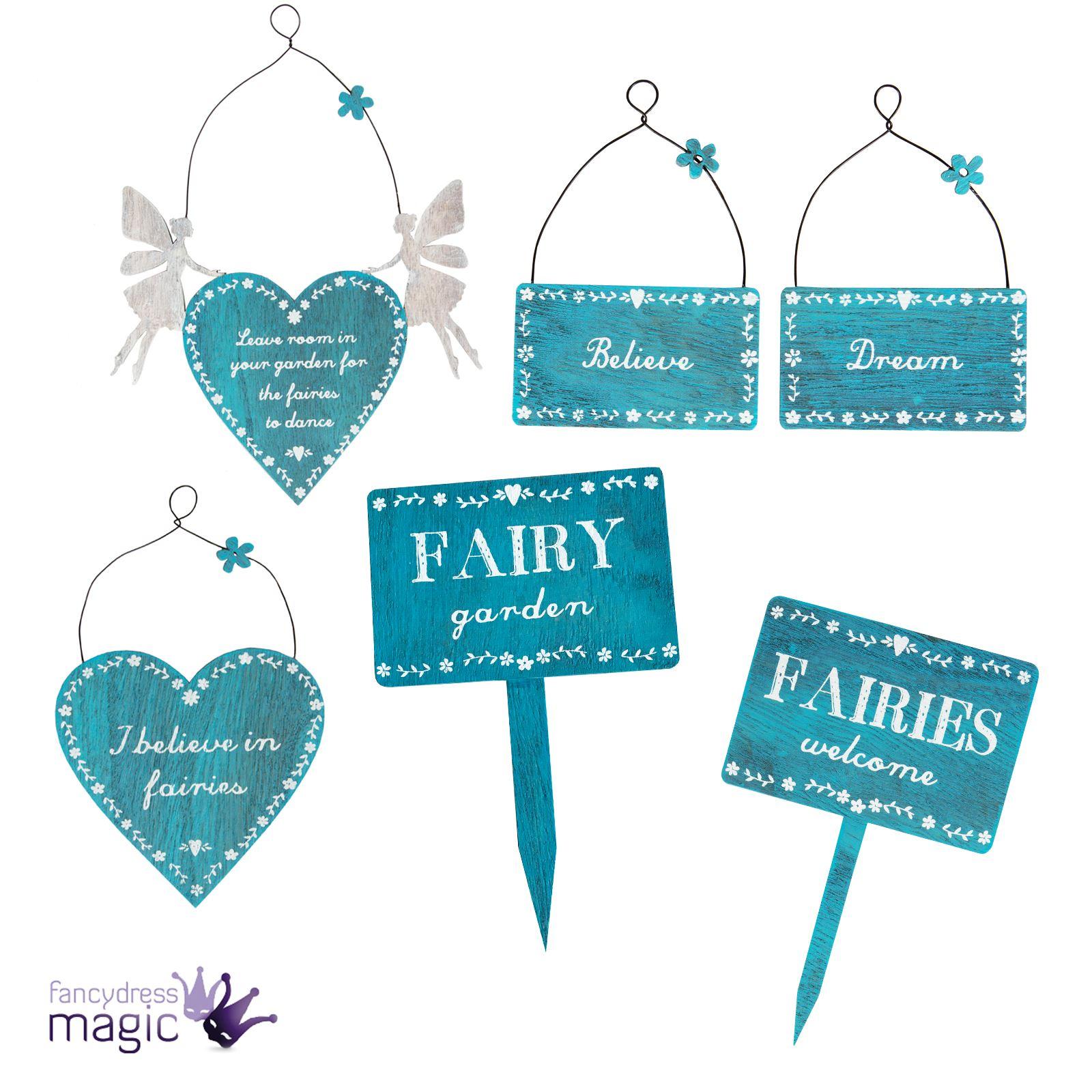 secret garden signs, sass & belle fairy fairies garden signs plaque decoration hanging, Design ideen