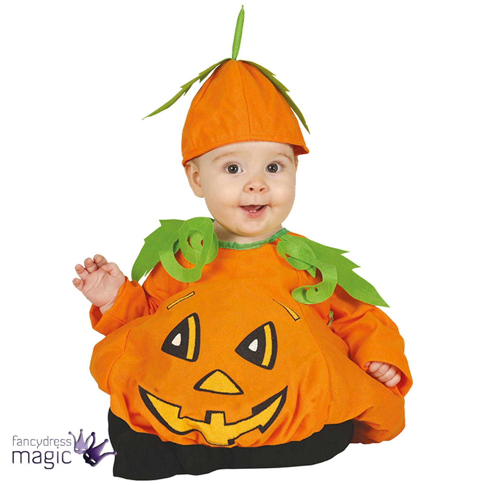 baby kleinkinder s pumpkin patch jungen m dchen halloween kost m kleid outfit ebay. Black Bedroom Furniture Sets. Home Design Ideas