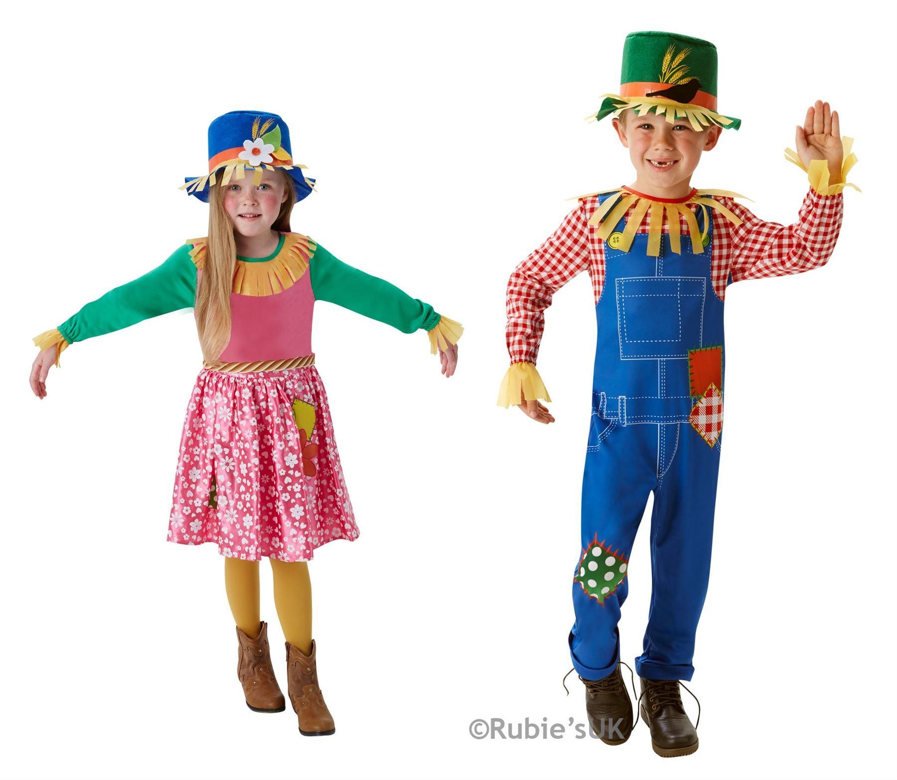 RUBIES MR MRS SCARECROW FANCY DRESS COSTUME KIDS WORLD BOOK DAY ...