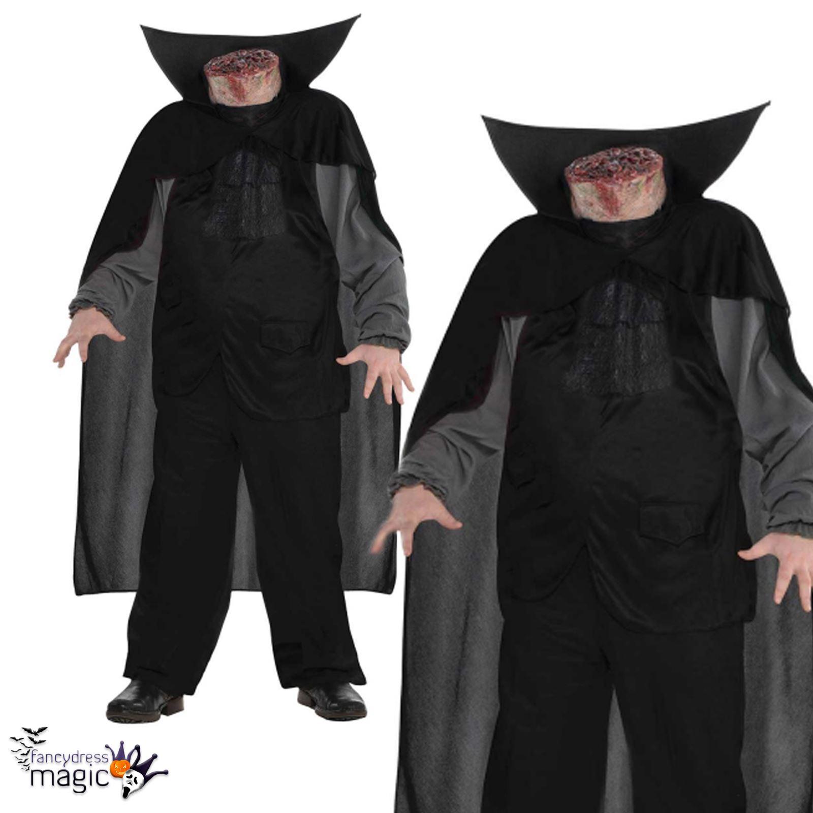 Adulto Sin Cabeza Jinete Man Sangriento Sleepy Hollow Disfraz - Disfraces-sin-cabeza