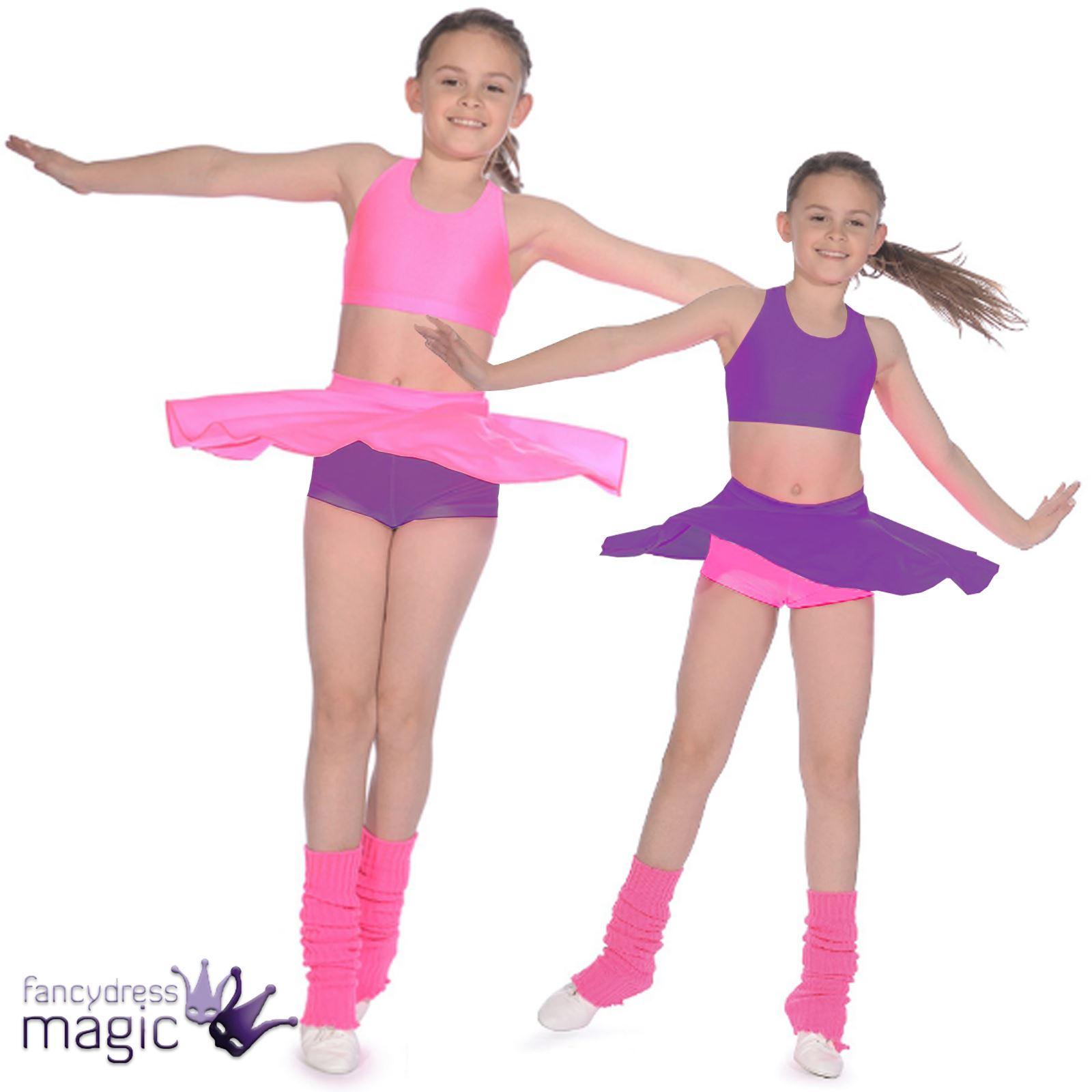Roch Valley Niñas Baile Gimnasio Jazz ropa de danza Shorts Lycra ...