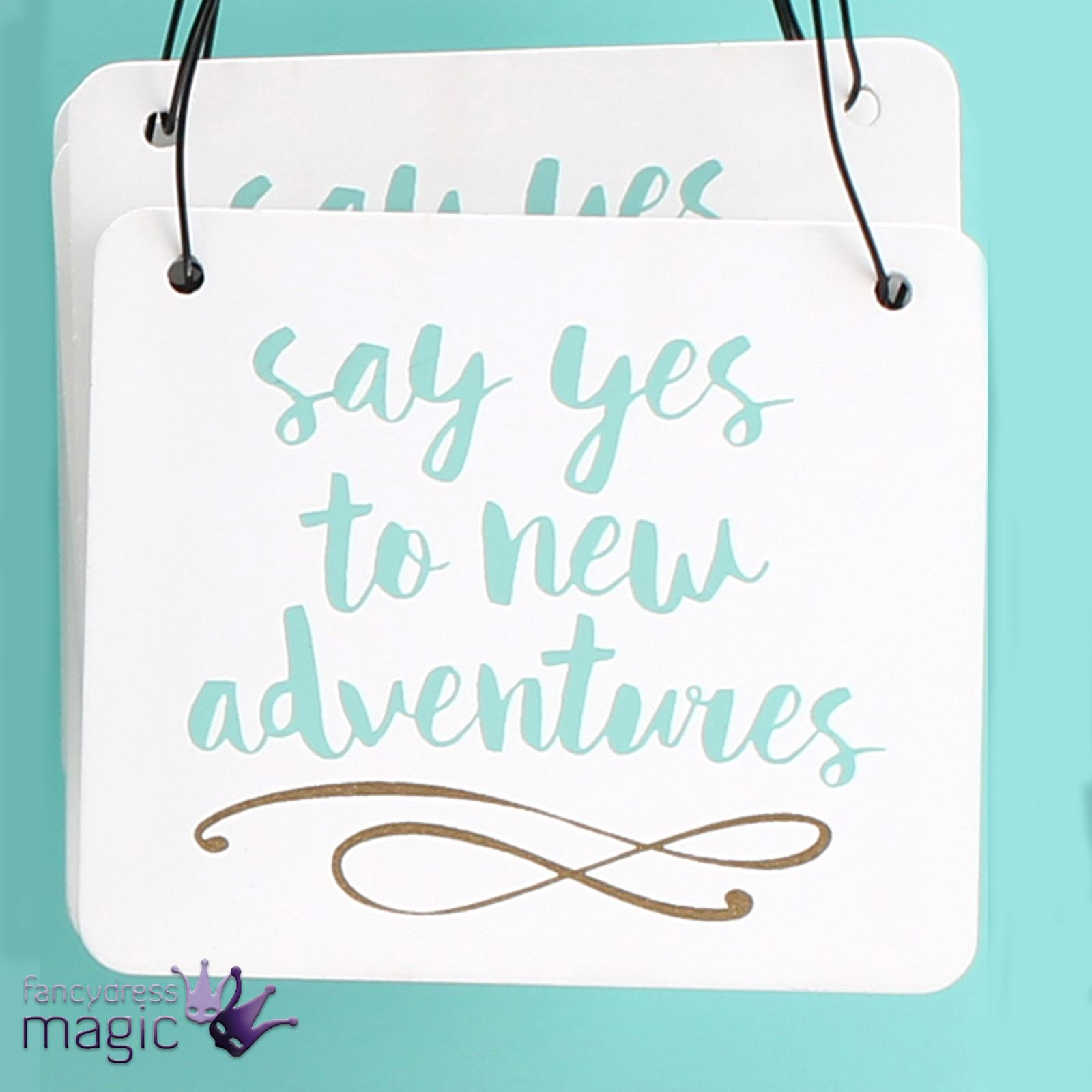 Disney Quote Plaques: Inspirational Tiny Mini Quote Wooden Hanging Sign Plaque