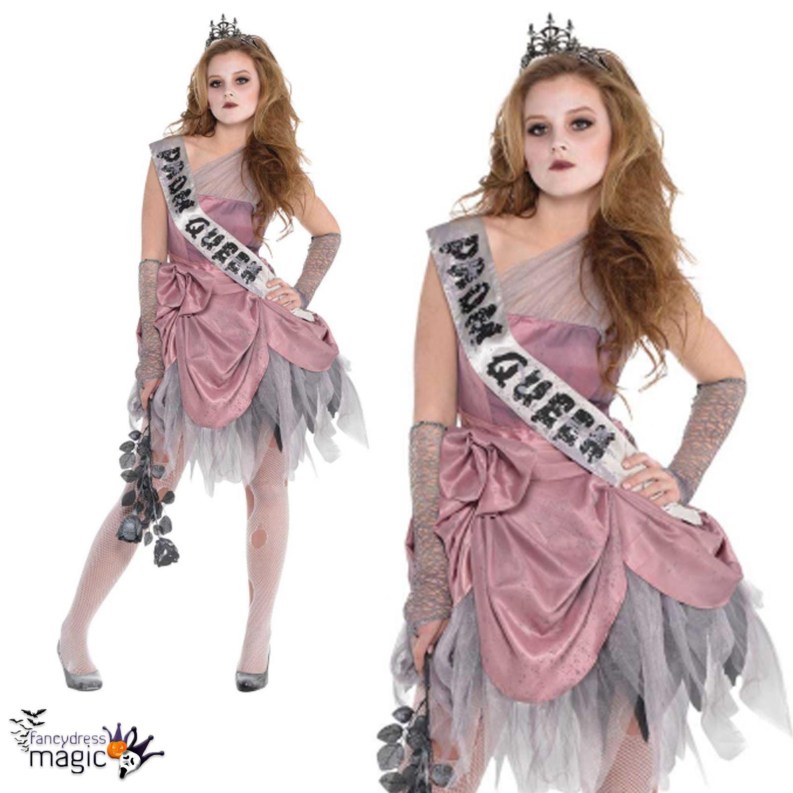nia adolescente zom Zombie Graduacin Reina Halloween Terror