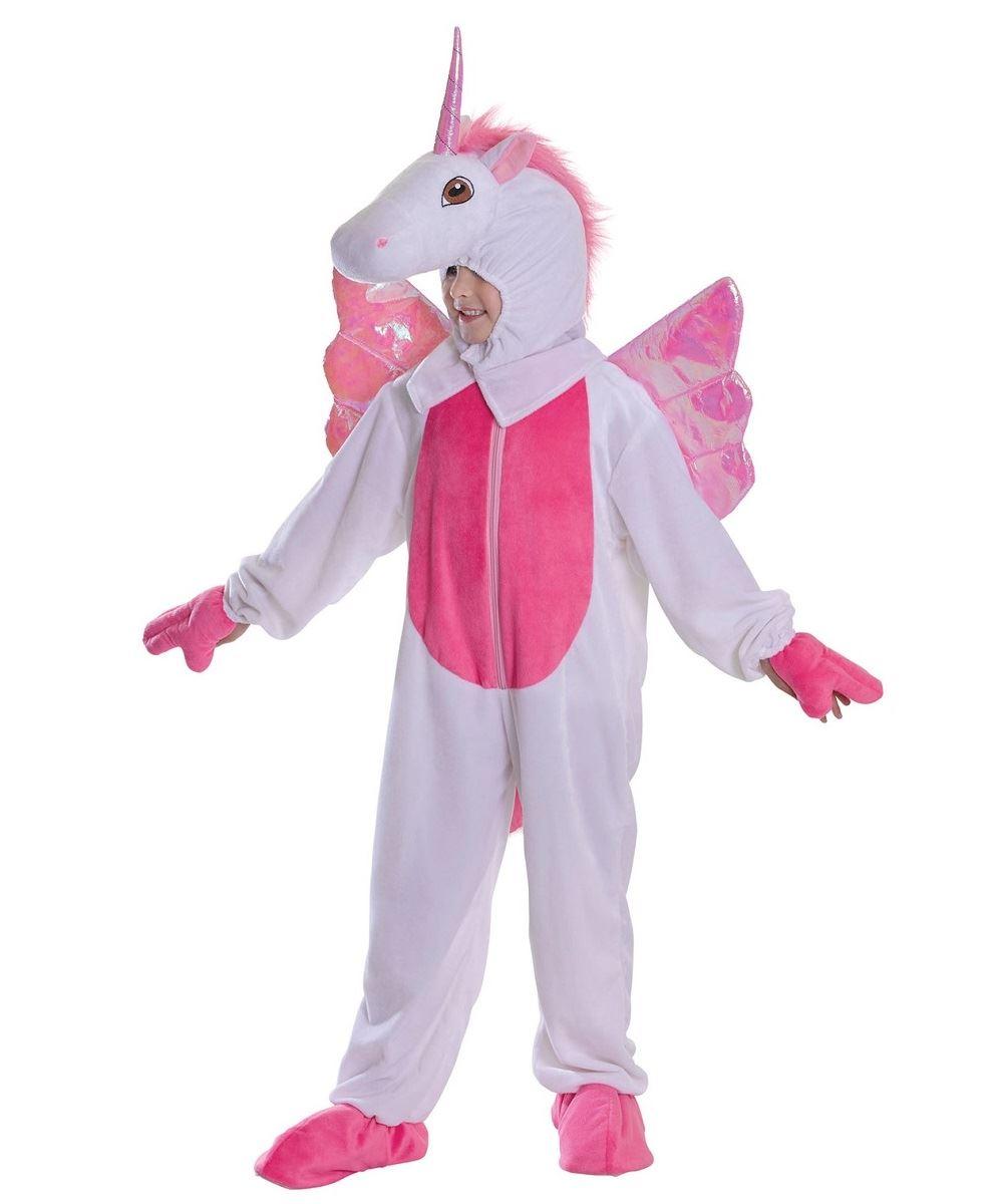 94c060285083  Girls Childs Unicorn Fairytale Fantasy Mascot Wings Fancy Dress Costume