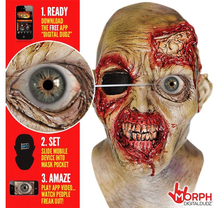 Digital Dudz Phone App Latex Animated Morph Moving Mask Fancy ...