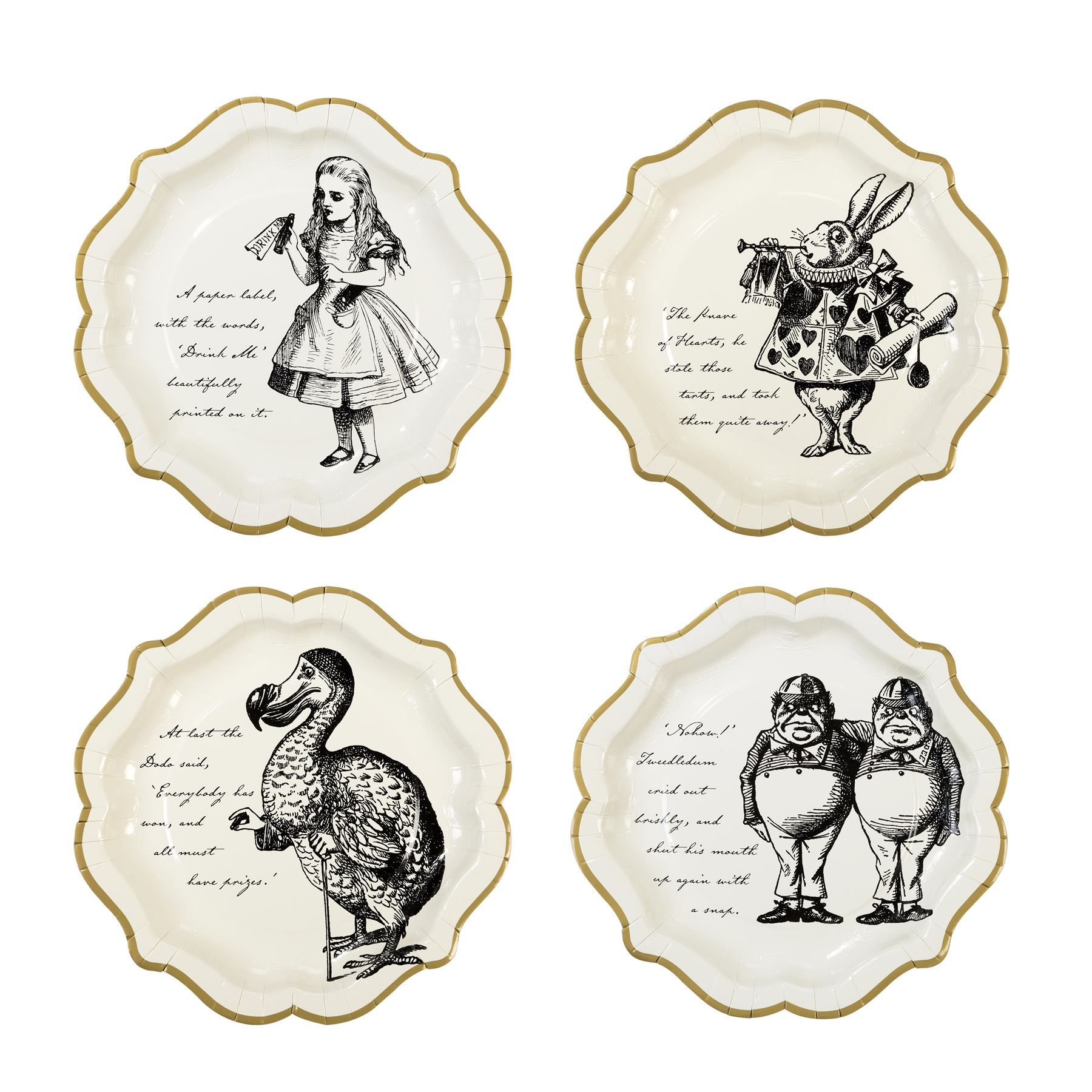 Talking Tables Alice Wonderland Mad Hatter Tea Party Vintage ...