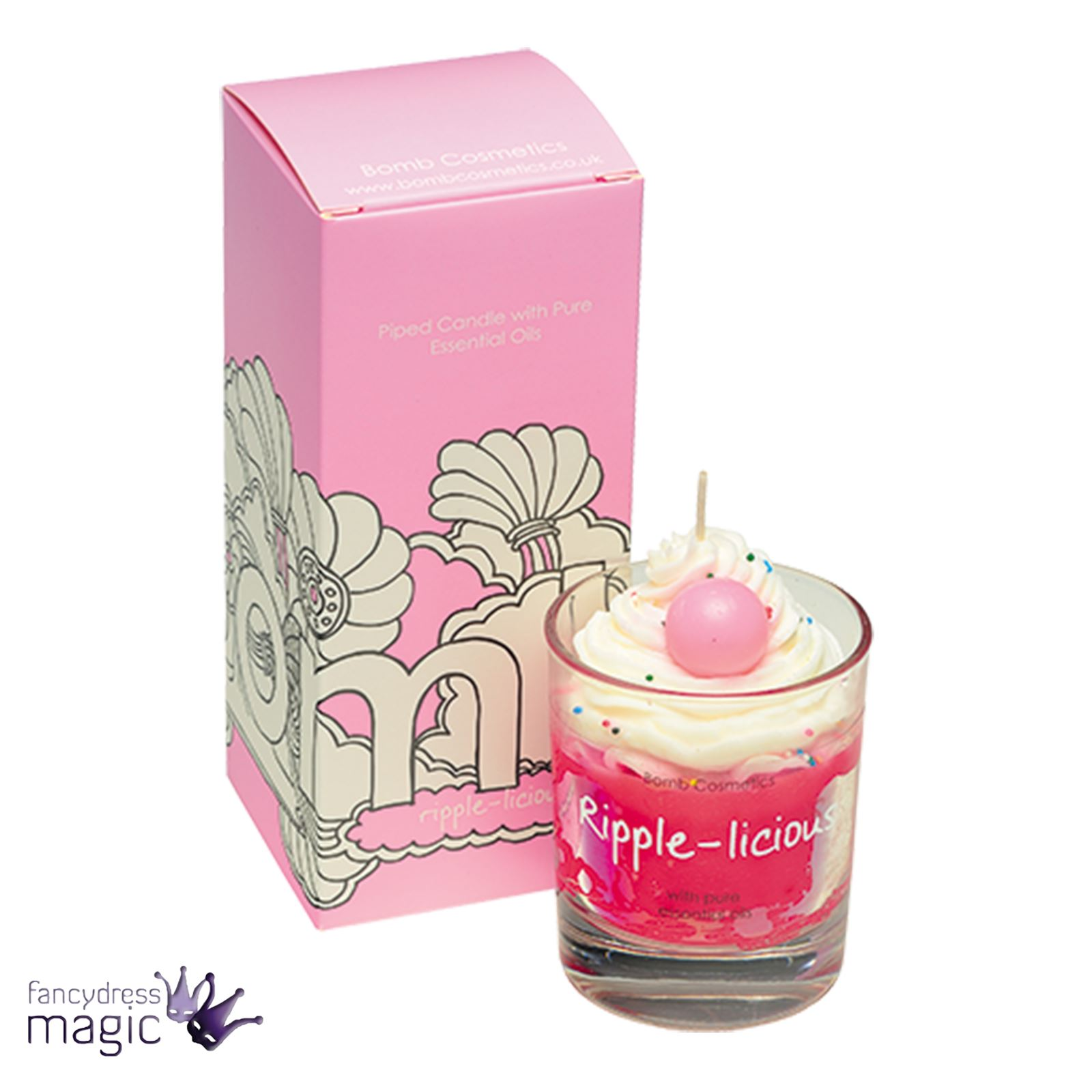 Bomb-Cosmetics-Handmade-Piped-Glass-Candle-Vegan-Pure-Essential-Oils-Boxed-Gift thumbnail 27