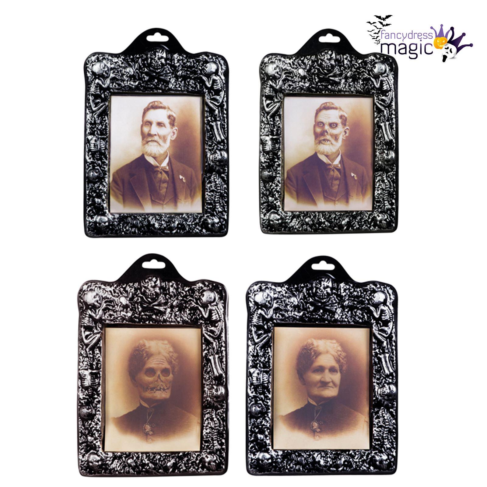 Halloween holographic photo frame portrait changing picture spooky halloween holographic photo frame portrait changing picture spooky decoration jeuxipadfo Images