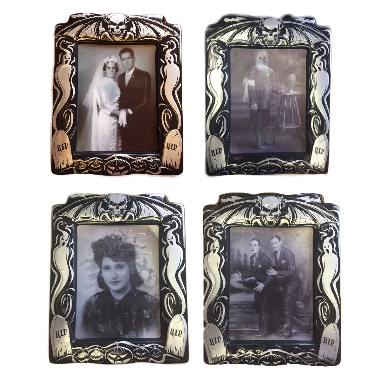 holographic changing picture photo portrait halloween scene setter