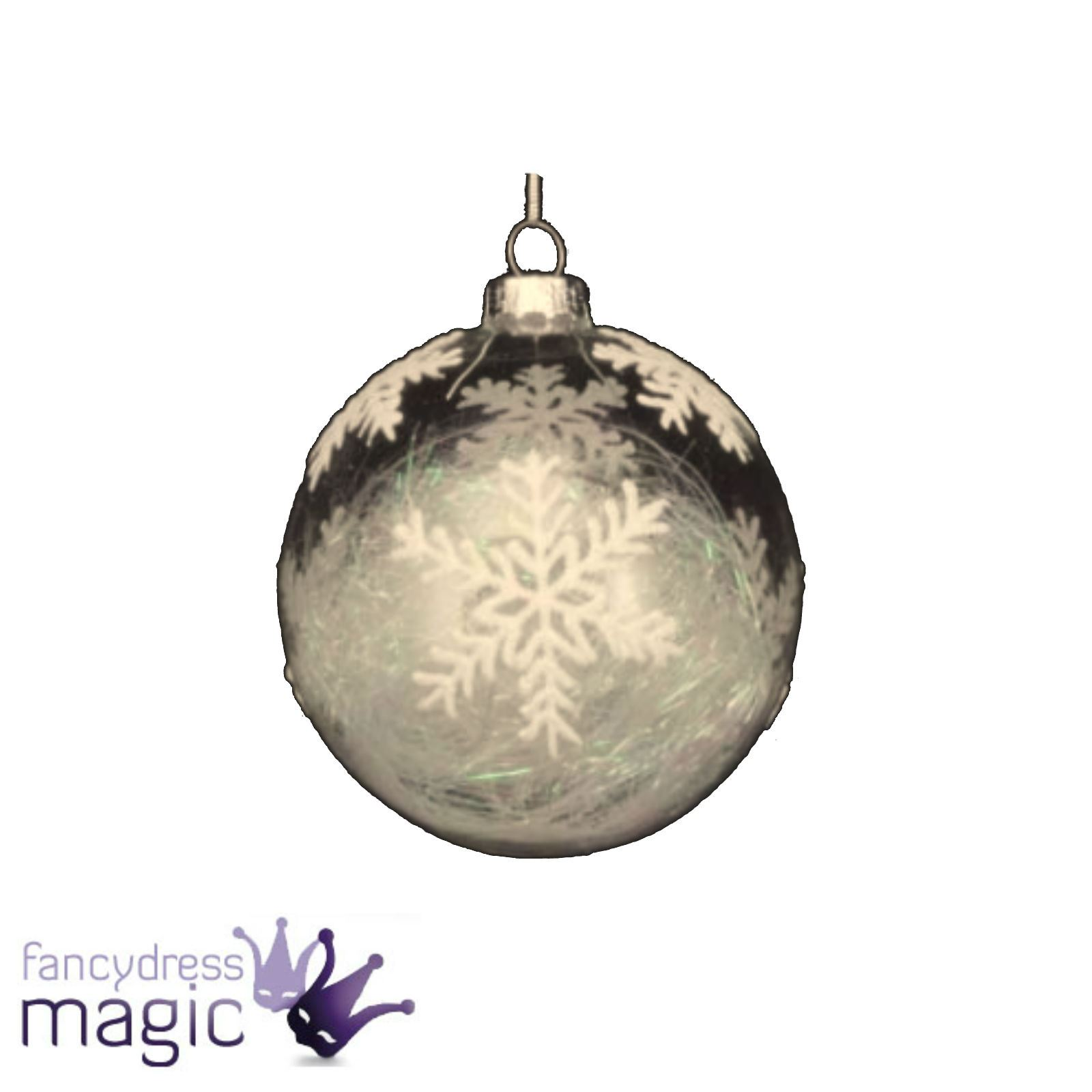 Fillable Glass Bauble Mm