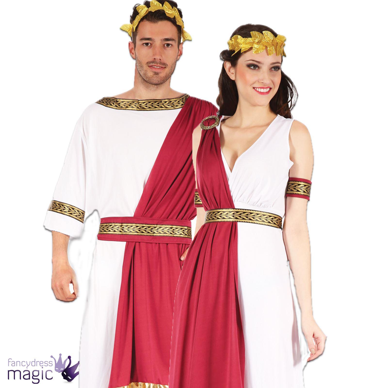 New Mens Ladies Roman God Goddess Toga Caesar Venus Fancy