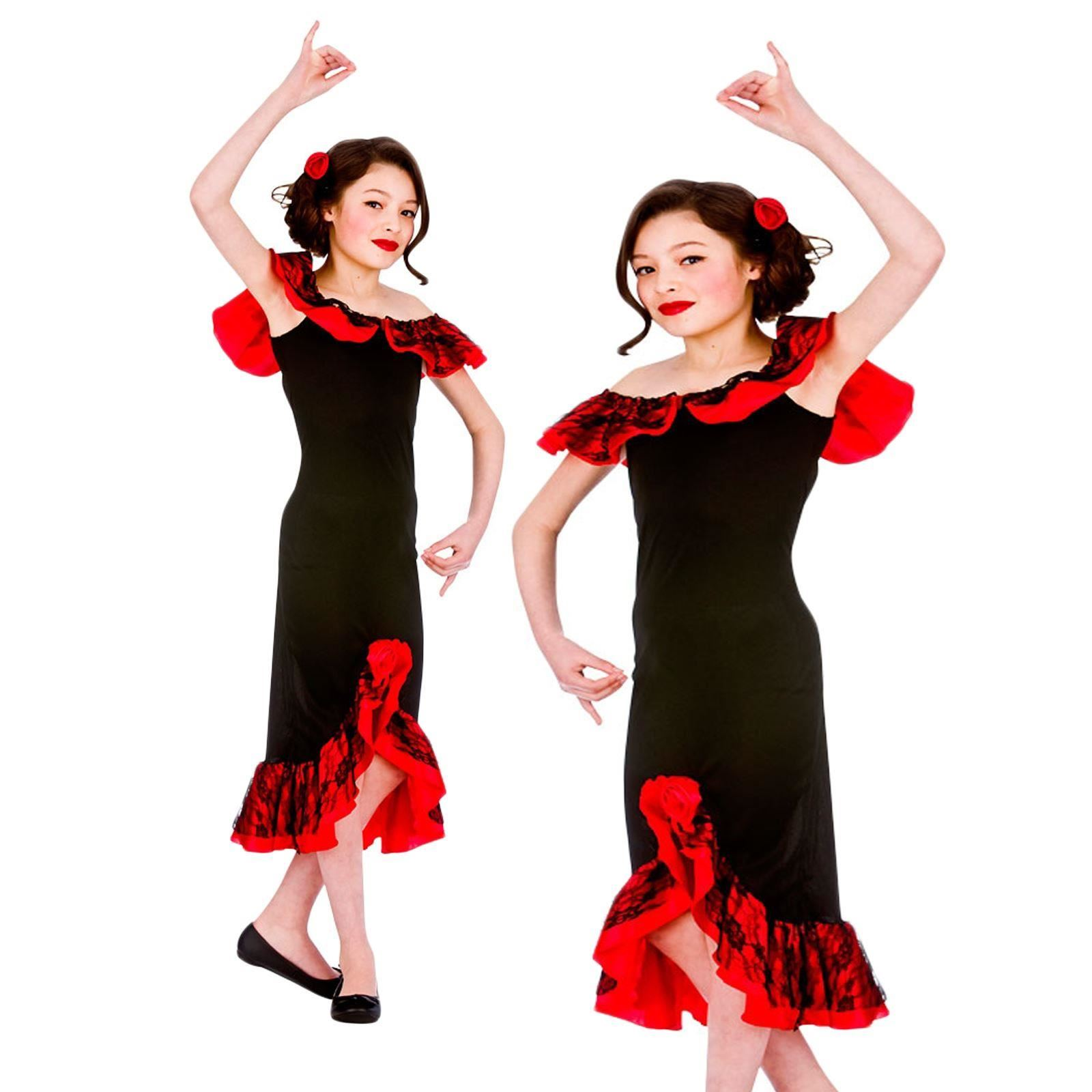 Girls Spanish Spain Senorita Dance Dancing Carmen Flamenco Fancy