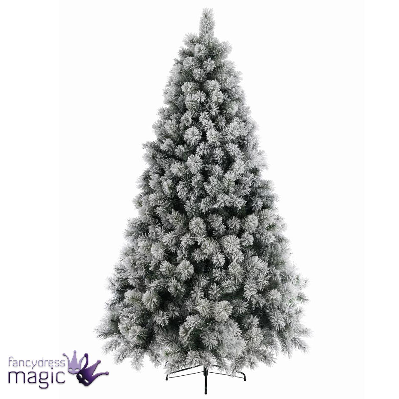 kaemingk vancouver nieve artificial mixto pino navidad rbol decoracin 18 m - Arbol De Navidad Artificial